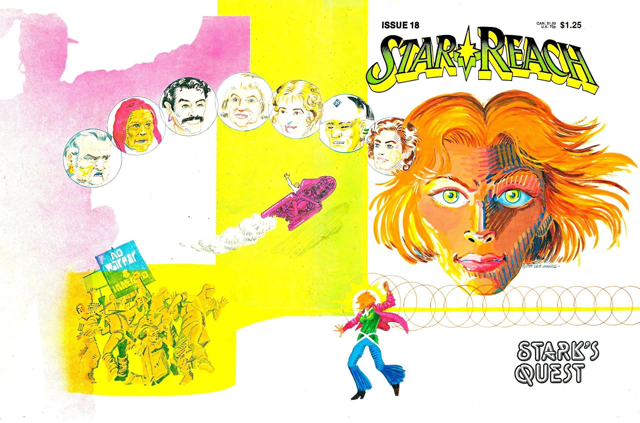 Read online Star*Reach comic -  Issue #18 - 1