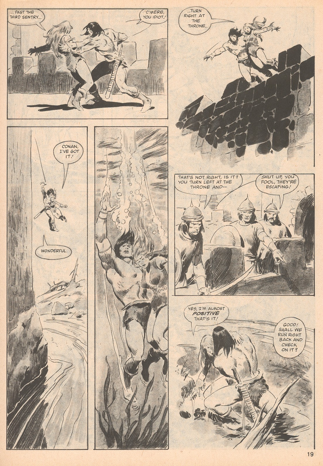The Savage Sword Of Conan Issue #70 #71 - English 19