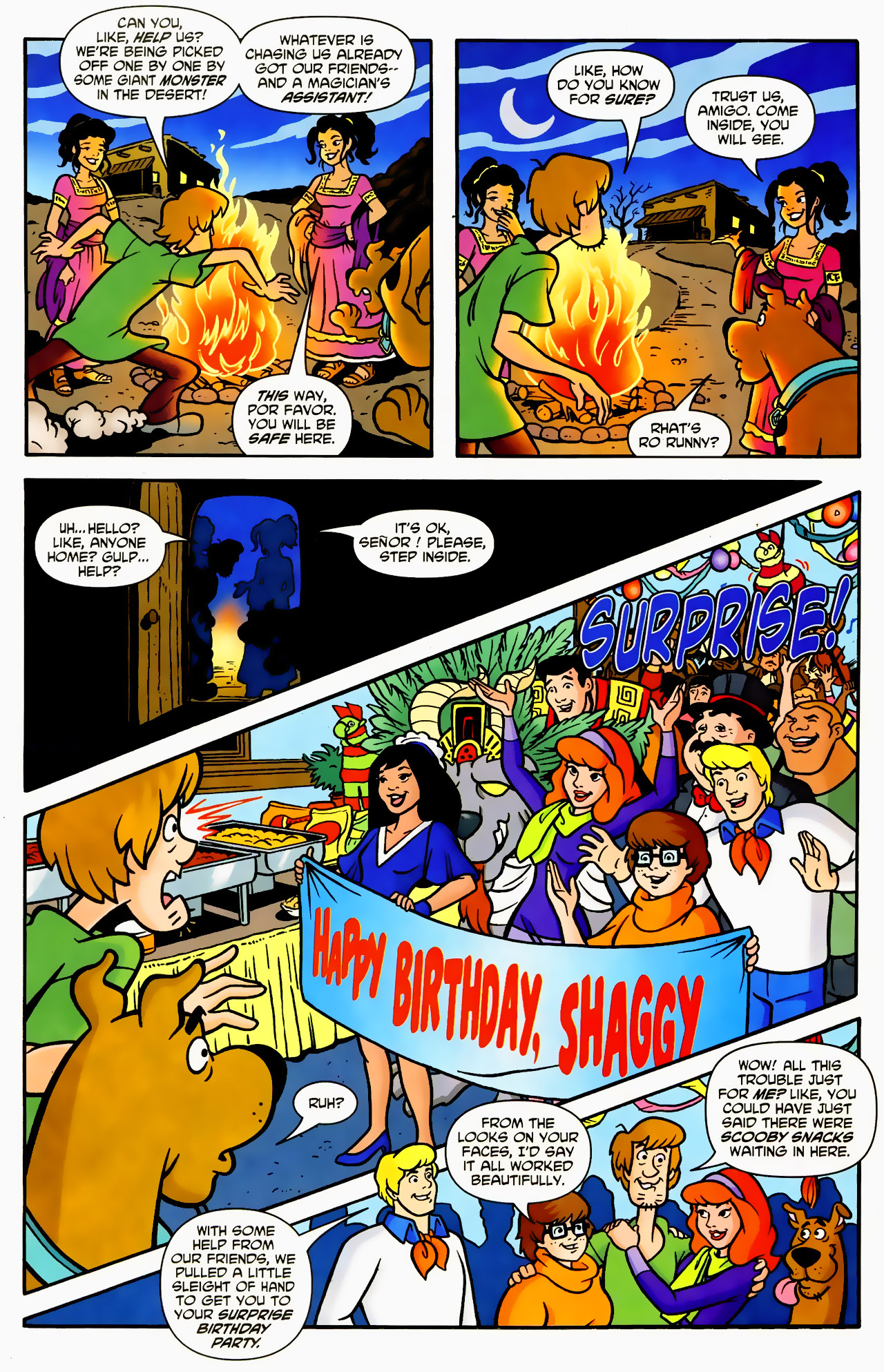 Read online Scooby-Doo (1997) comic -  Issue #130 - 8