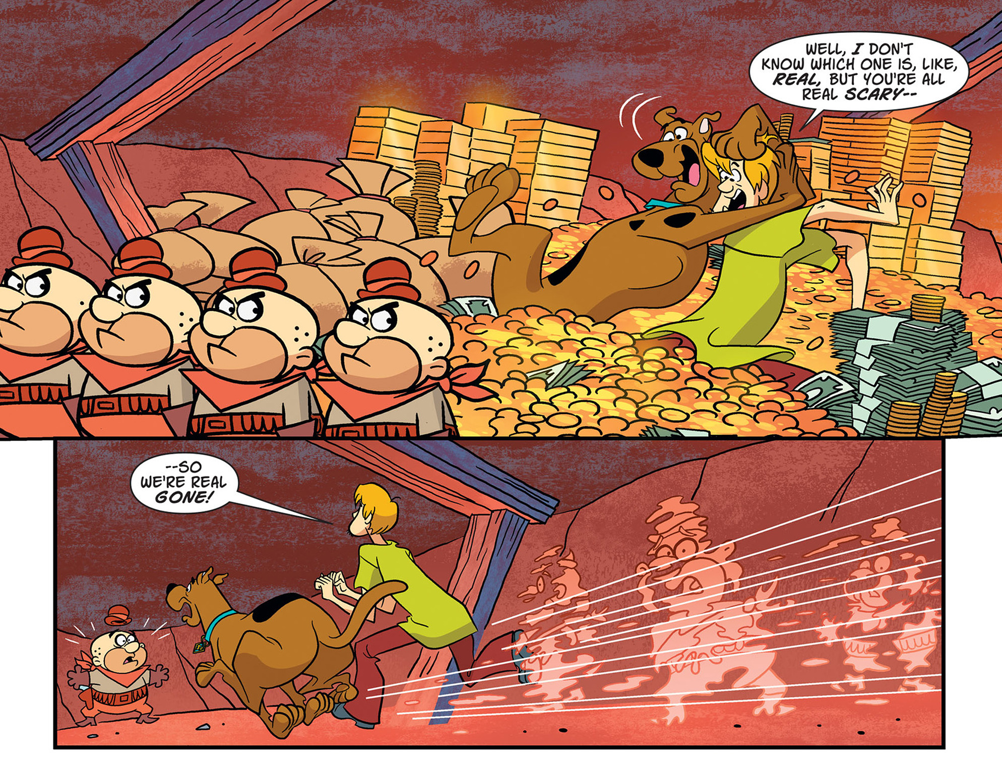 Read online Scooby-Doo! Team-Up comic -  Issue #46 - 14