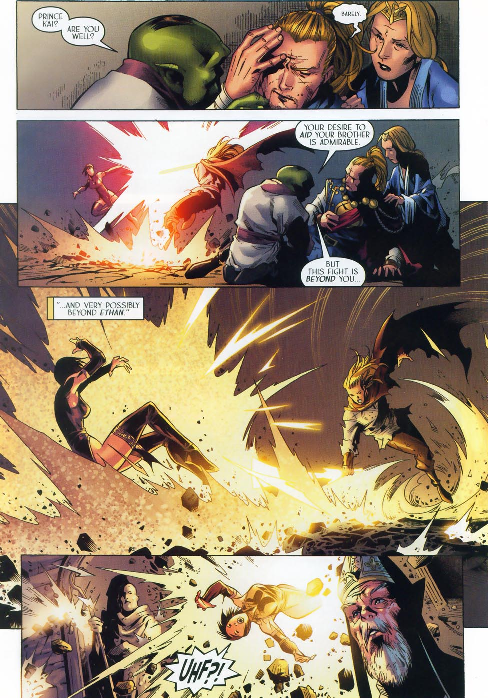 Read online Scion comic -  Issue #36 - 19