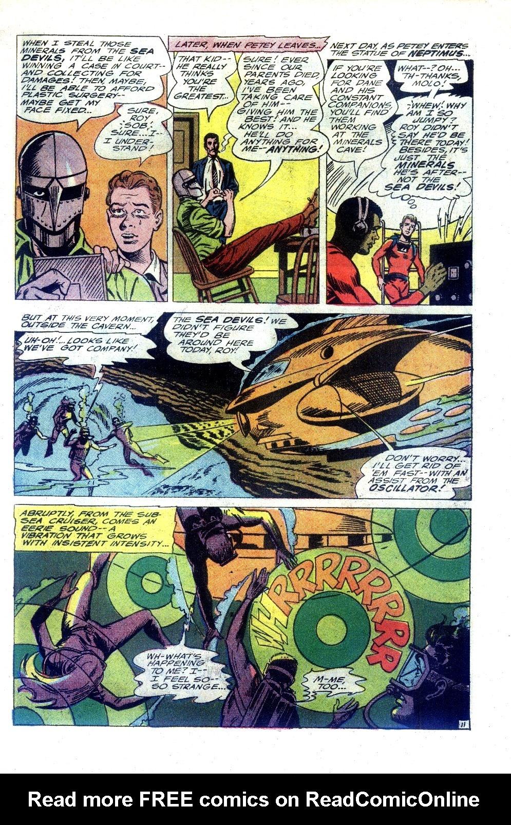 Read online Sea Devils comic -  Issue #27 - 16
