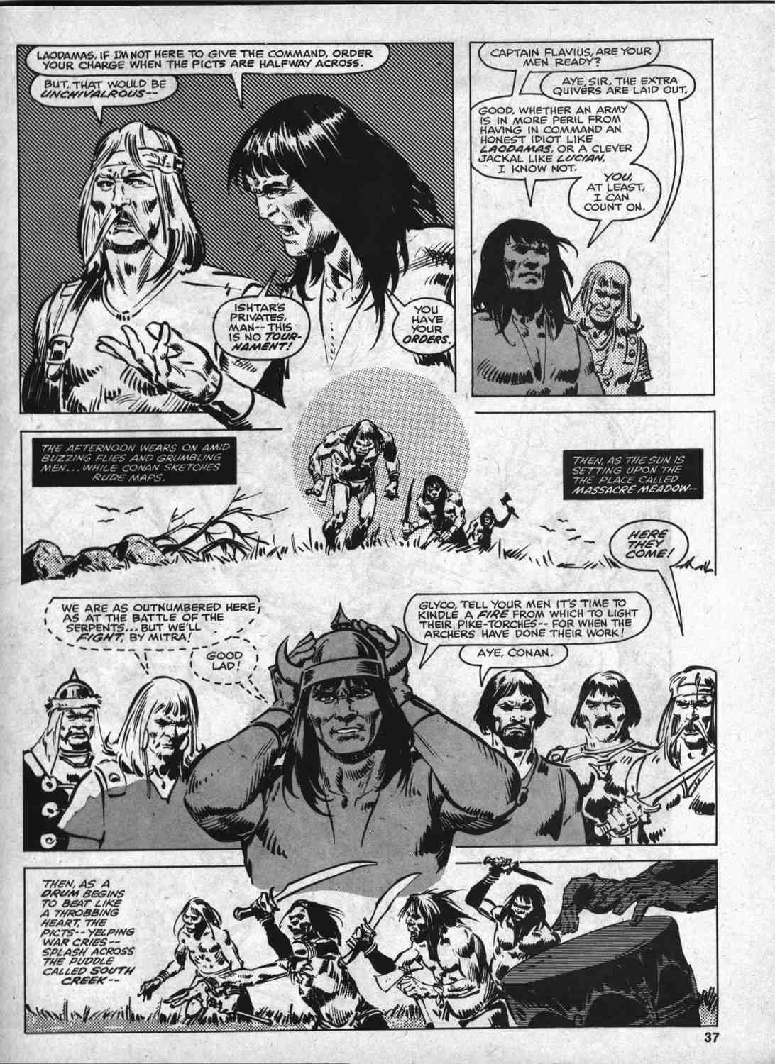 The Savage Sword Of Conan Issue #46 #47 - English 36