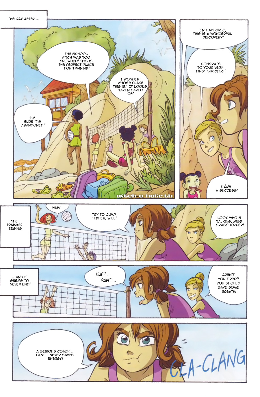 Read online W.i.t.c.h. comic -  Issue #136 - 10