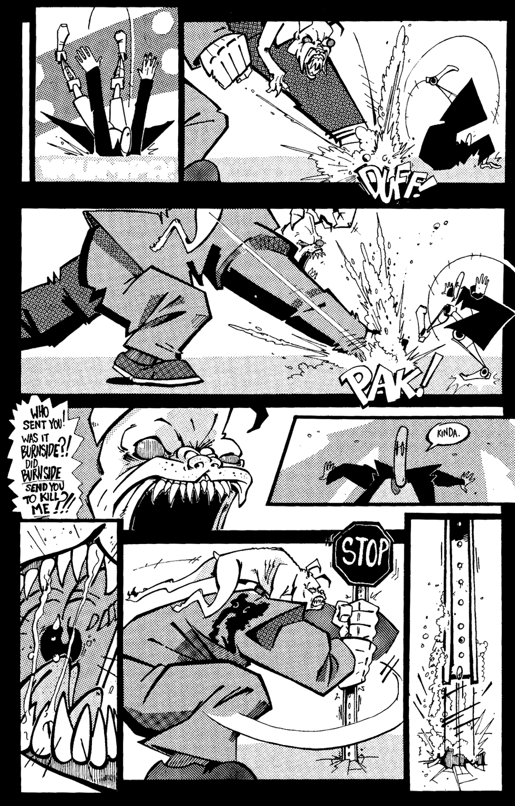 Read online Scud: The Disposable Assassin (1994) comic -  Issue #6 - 25