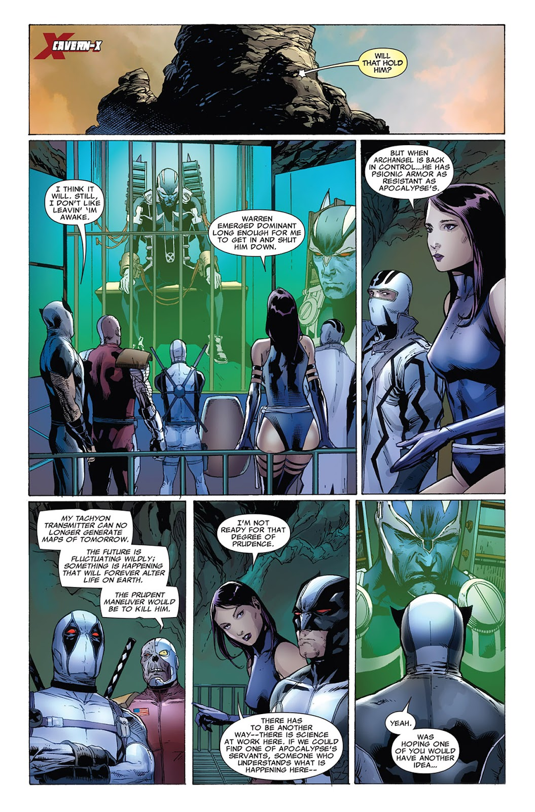 Uncanny X-Force (2010) Issue #10 #11 - English 20