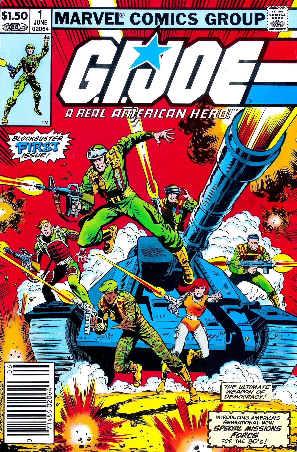 G.I. Joe: A Real American Hero 1 Page 1