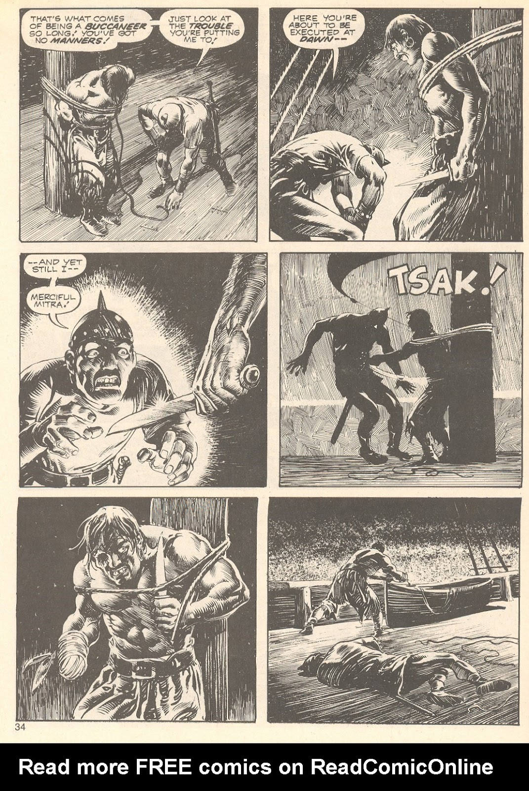 The Savage Sword Of Conan Issue #75 #76 - English 34