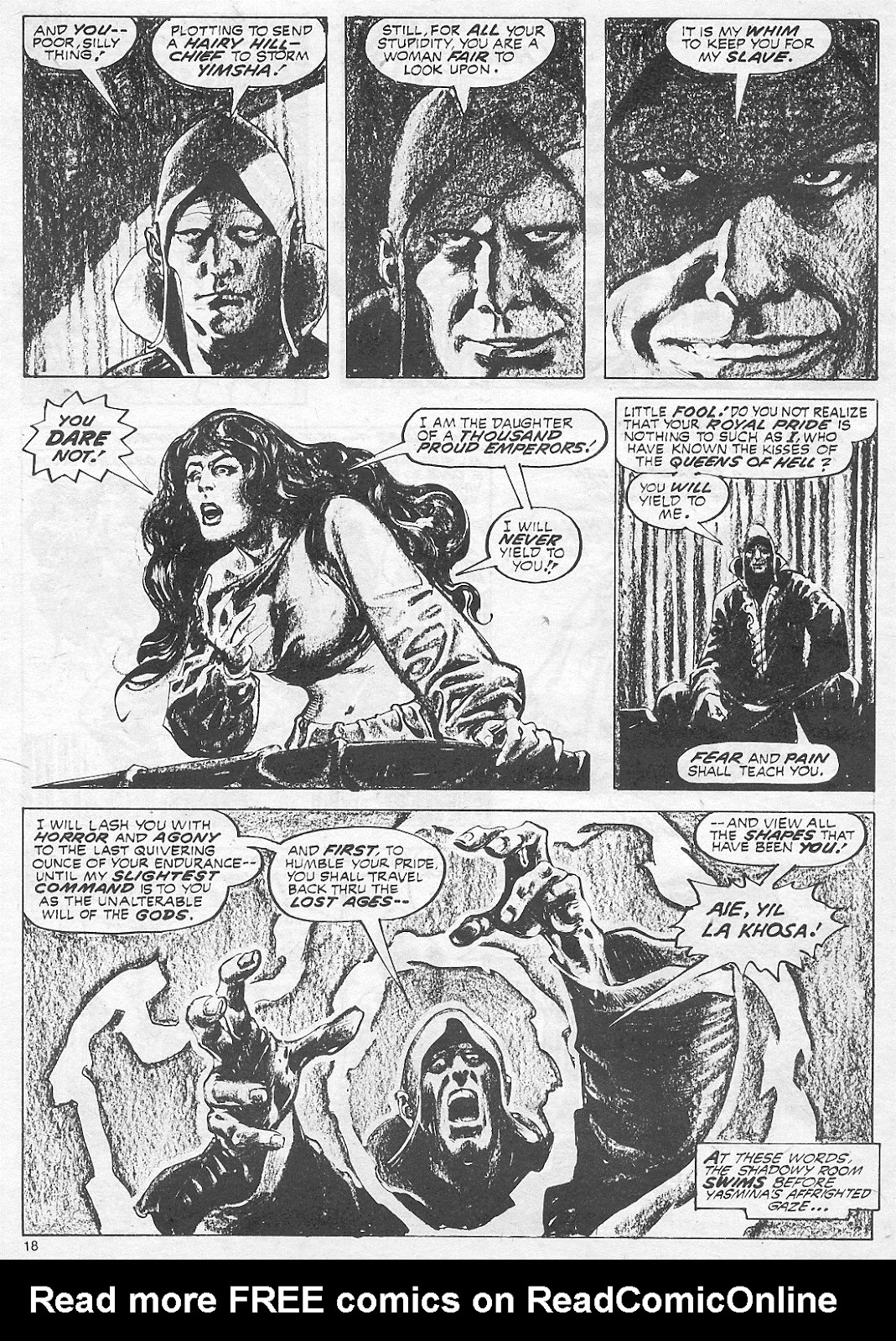 The Savage Sword Of Conan Issue #18 #19 - English 18