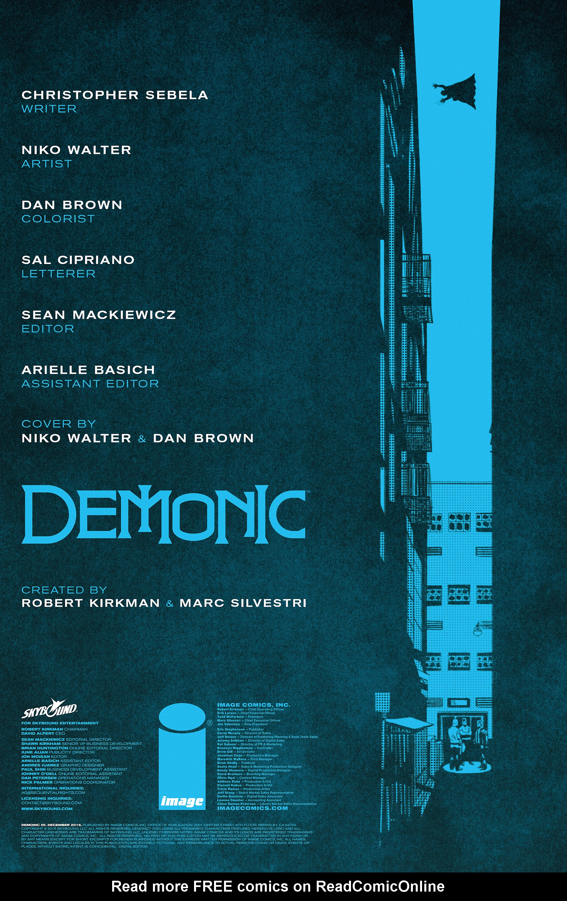 Read online Demonic comic -  Issue #5 - 2