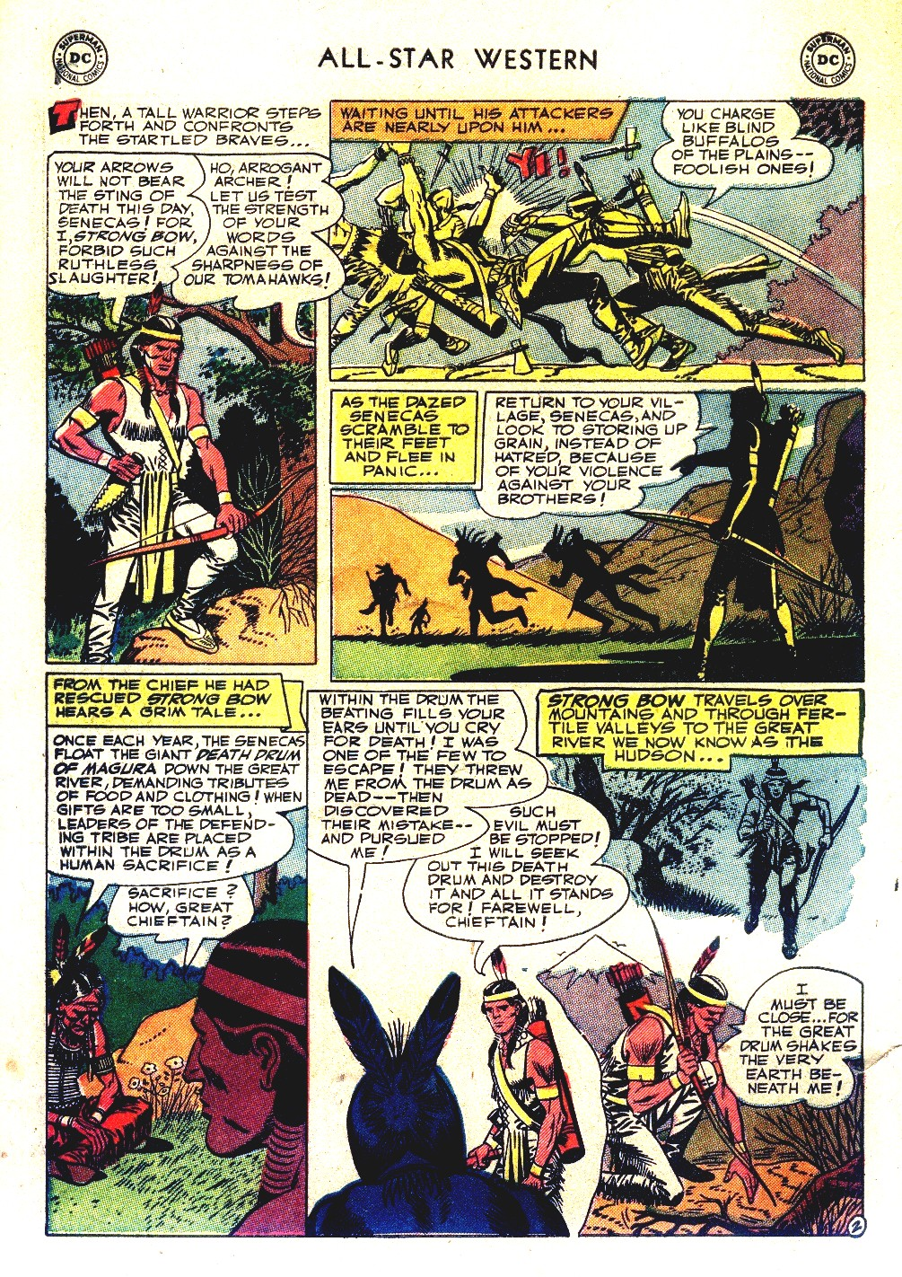 Read online All-Star Western (1951) comic -  Issue #66 - 30