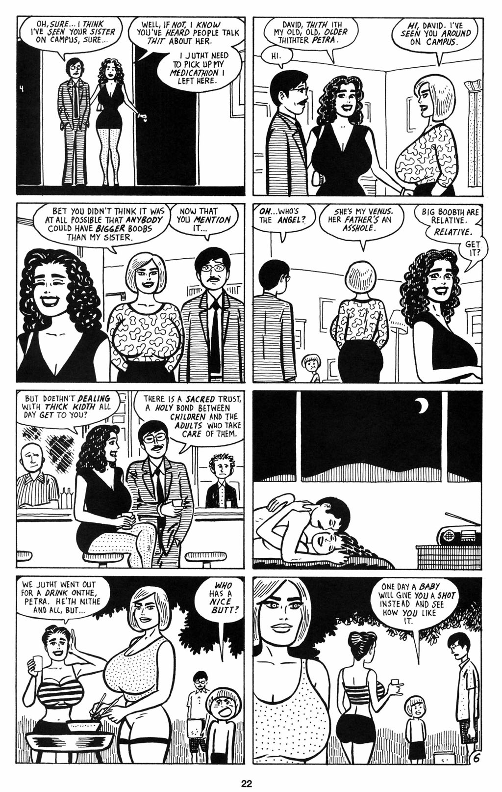 Read online Love and Rockets (2001) comic -  Issue #12 - 23