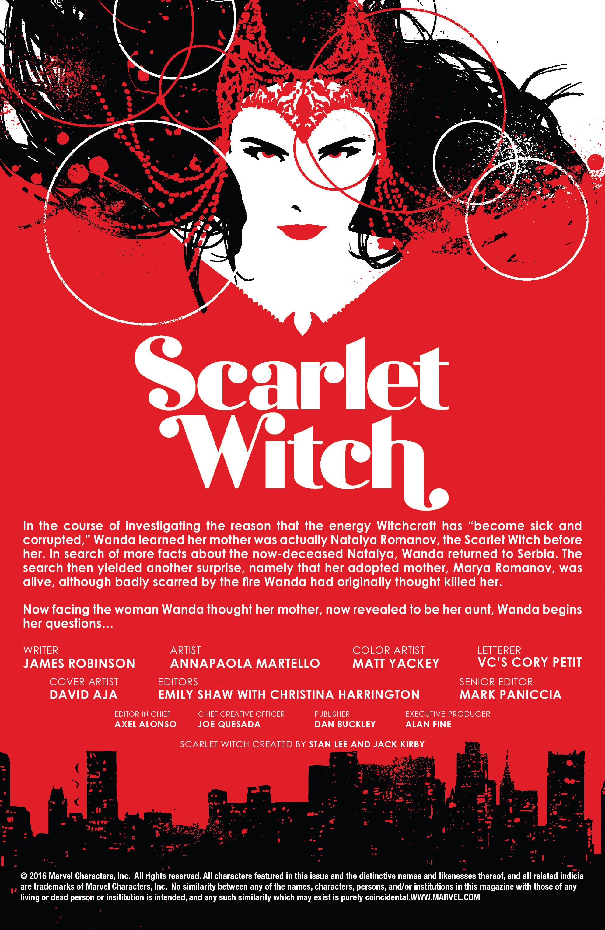 Read online Scarlet Witch (2016) comic -  Issue #12 - 2