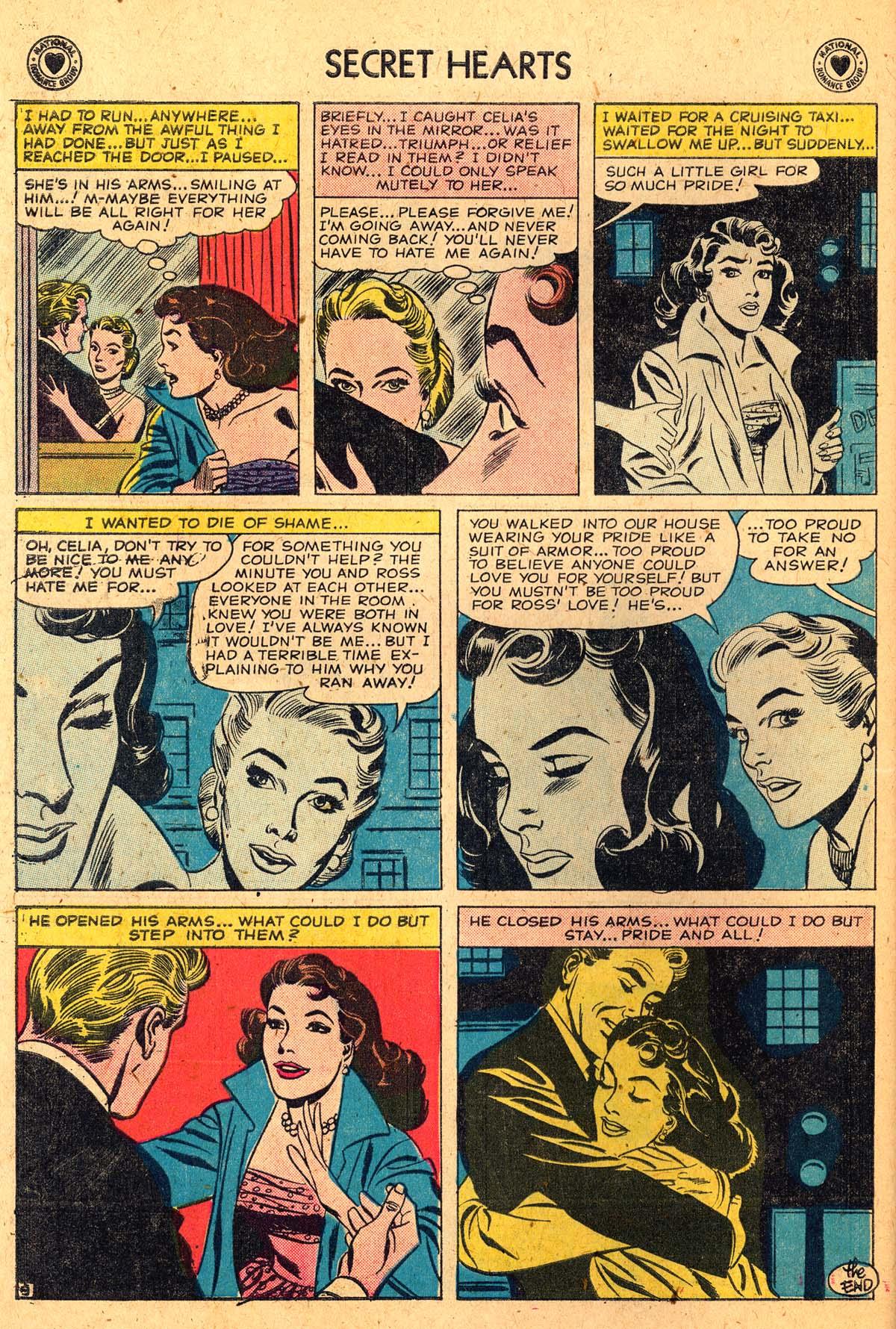 Read online Secret Hearts comic -  Issue #52 - 34