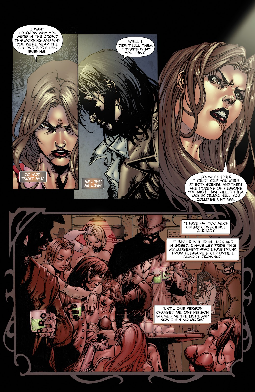 Read online Witchblade: Shades of Gray comic -  Issue #1 - 21