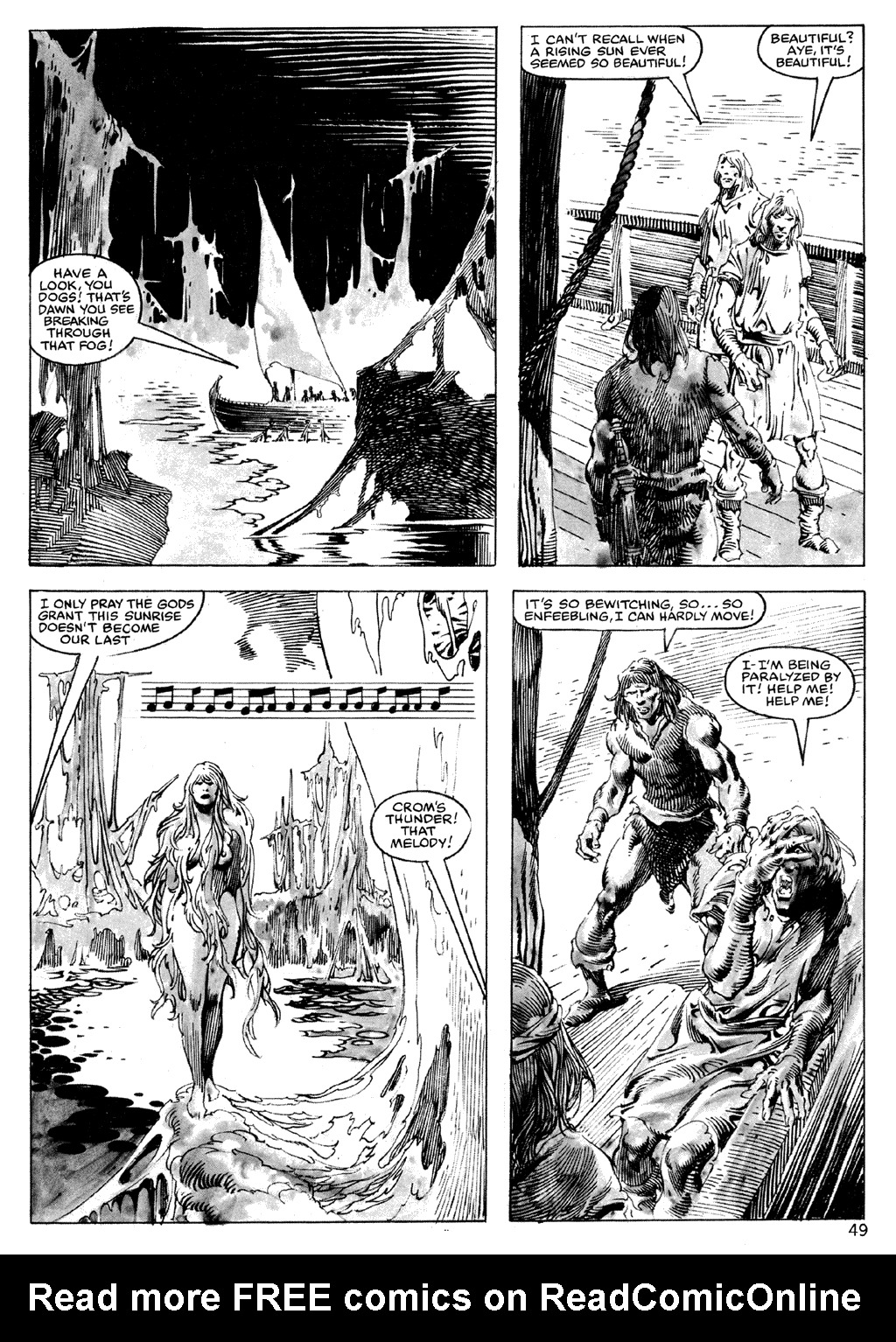 The Savage Sword Of Conan Issue #101 #102 - English 49
