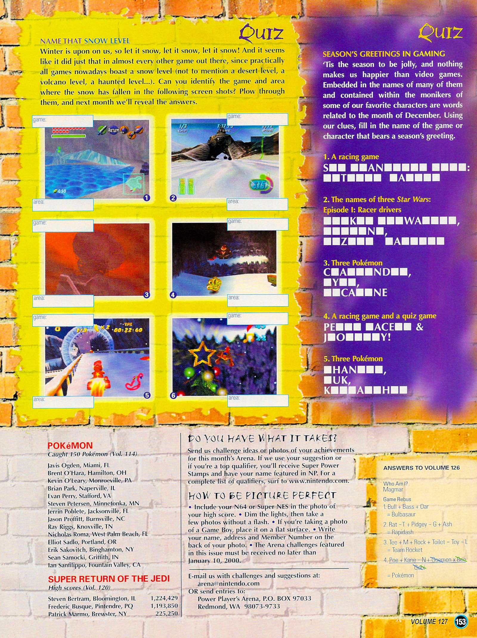 Nintendo Power #127 #127 - English 178
