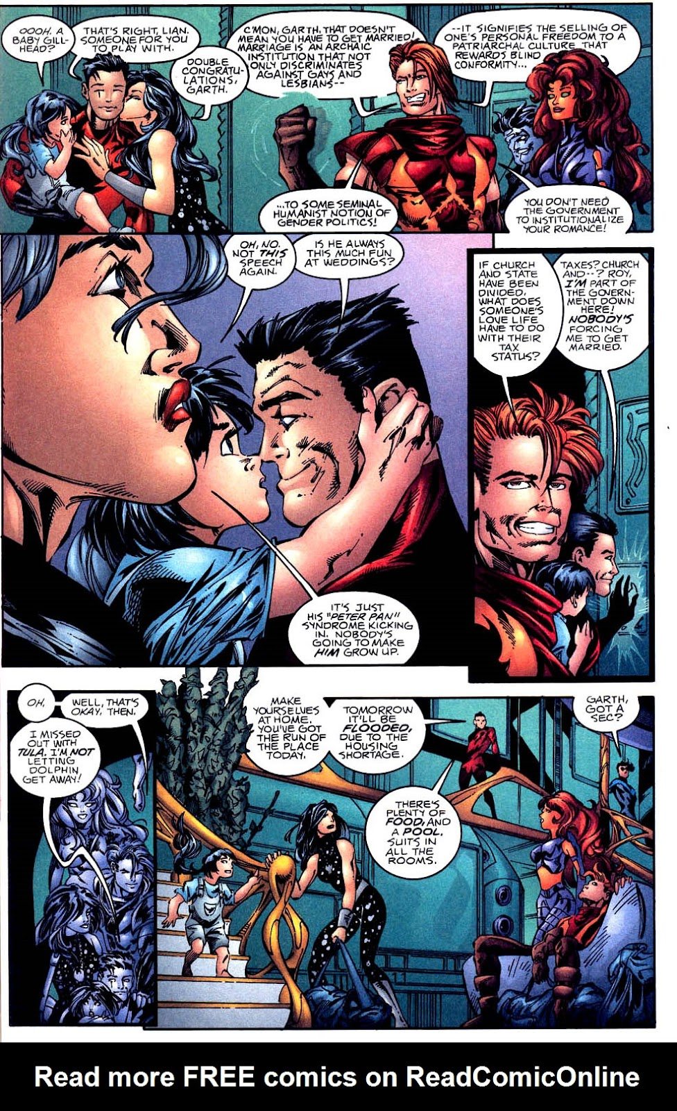Aquaman (1994) Issue #60 #66 - English 12