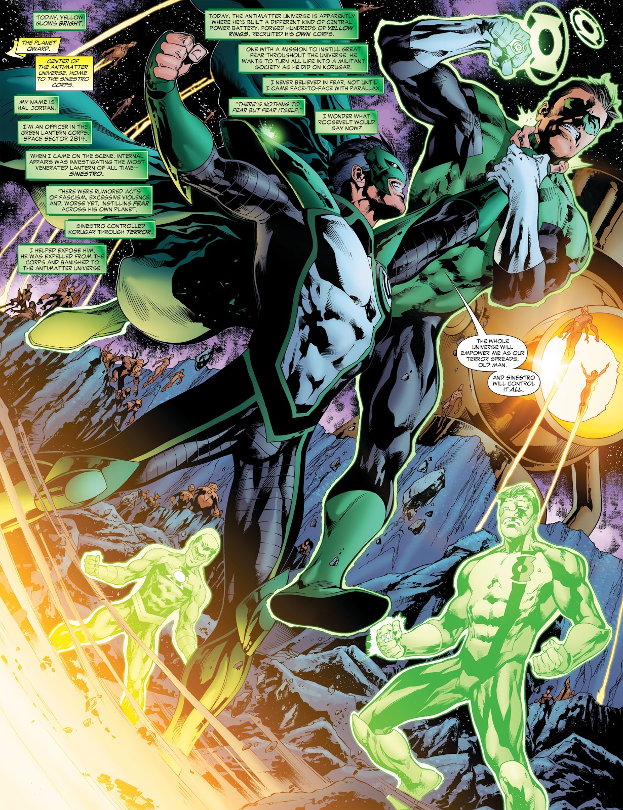 Green Lantern: The Sinestro Corps War Full #1 - English 95