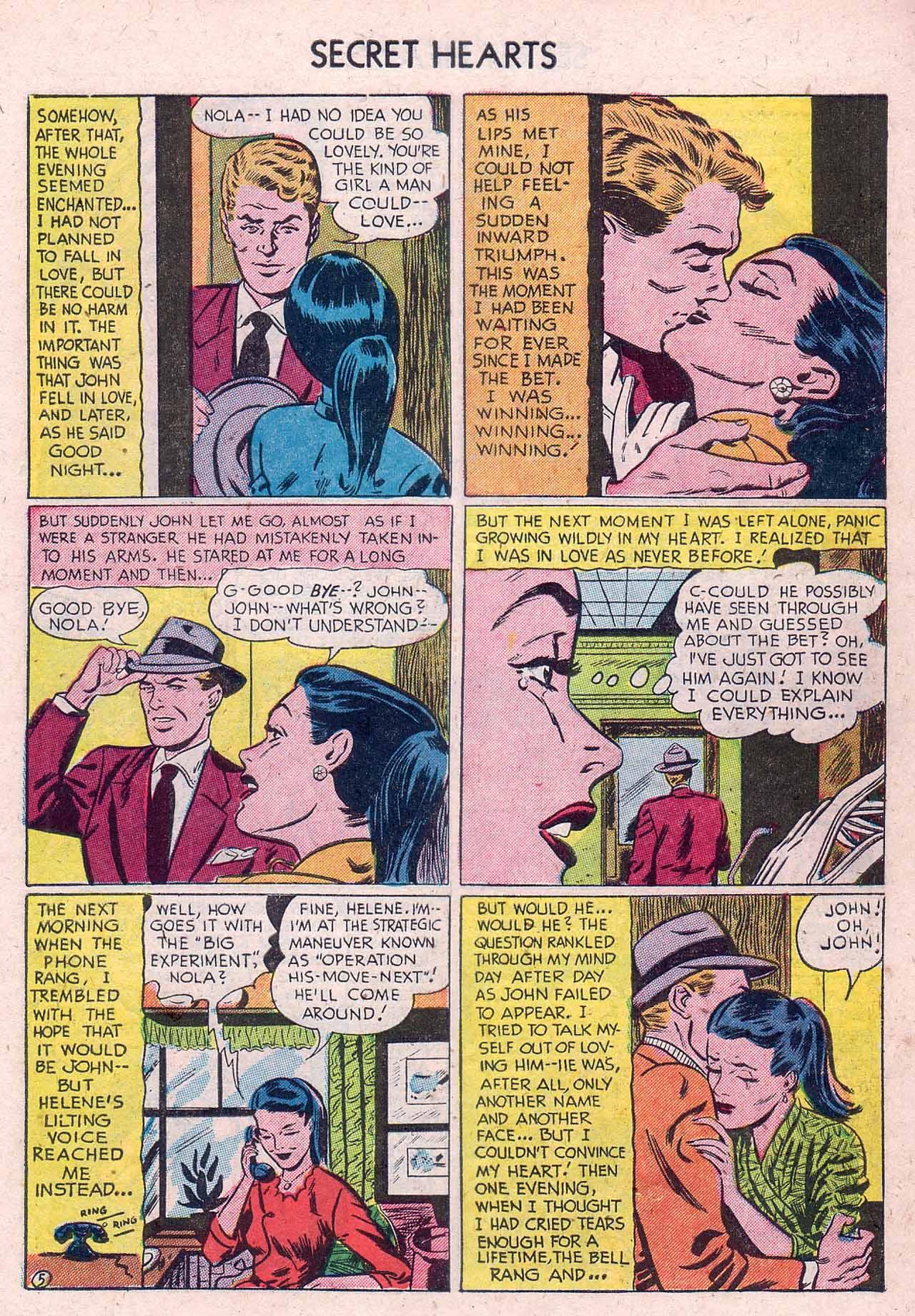 Read online Secret Hearts comic -  Issue #12 - 7