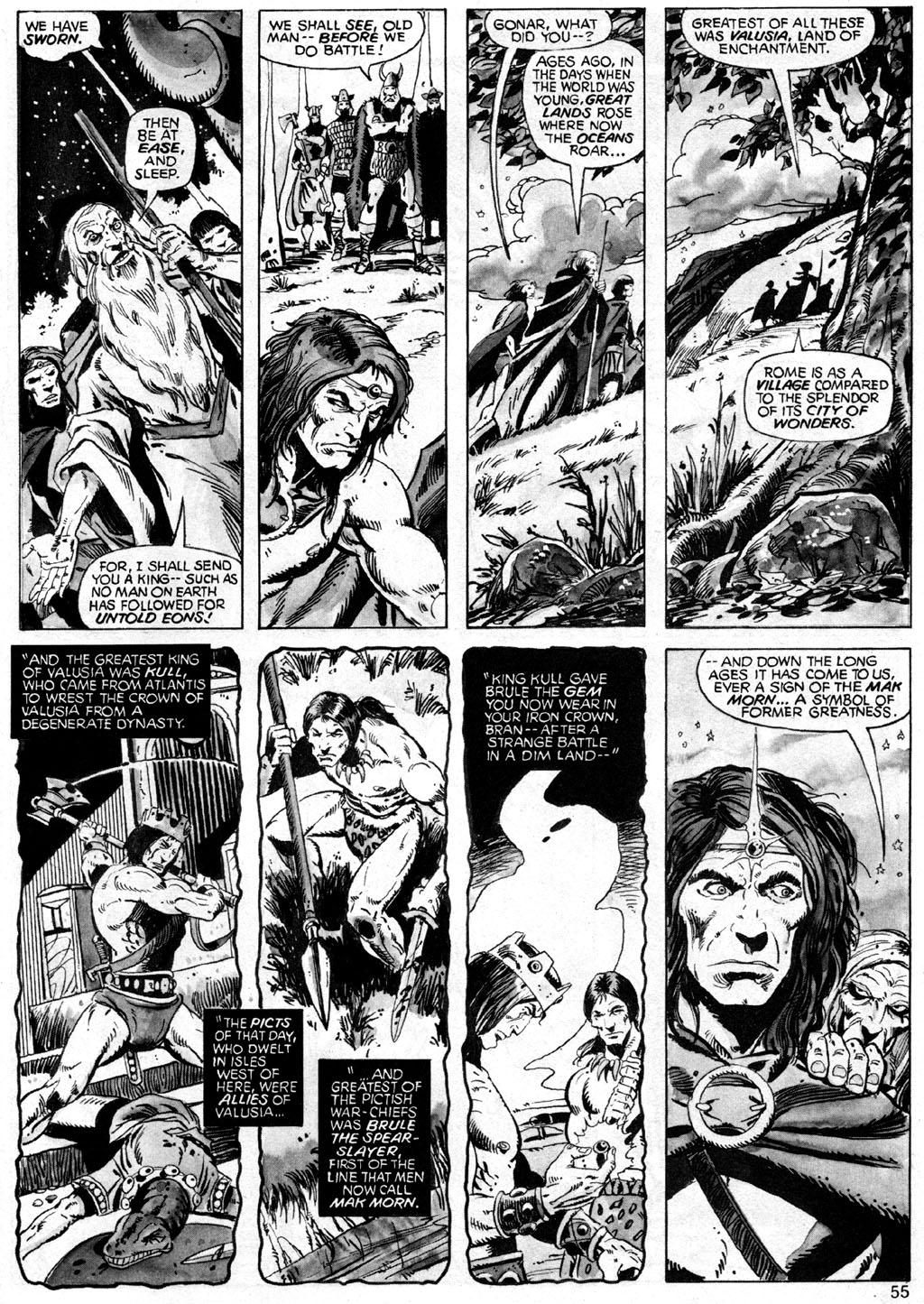 The Savage Sword Of Conan Issue #42 #43 - English 55