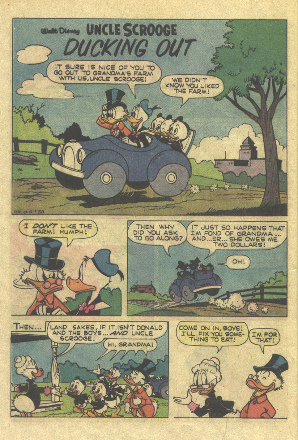 Uncle Scrooge (1953) Issue #115 #115 - English 28