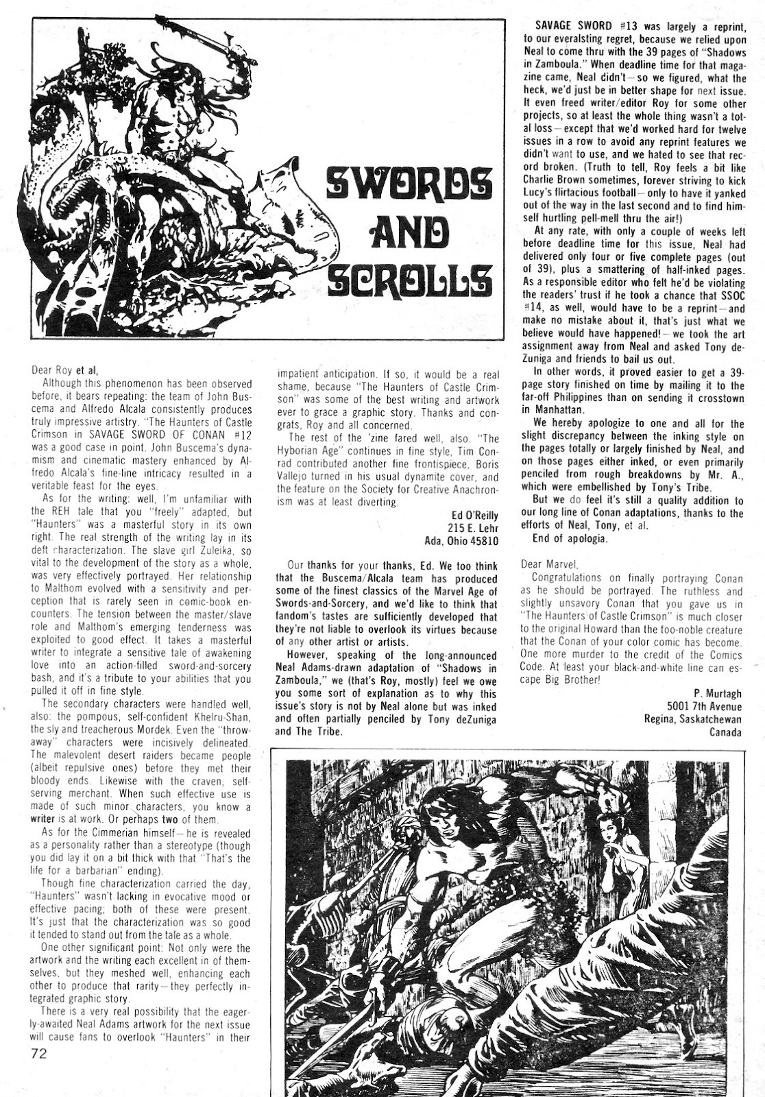 The Savage Sword Of Conan Issue #14 #15 - English 71