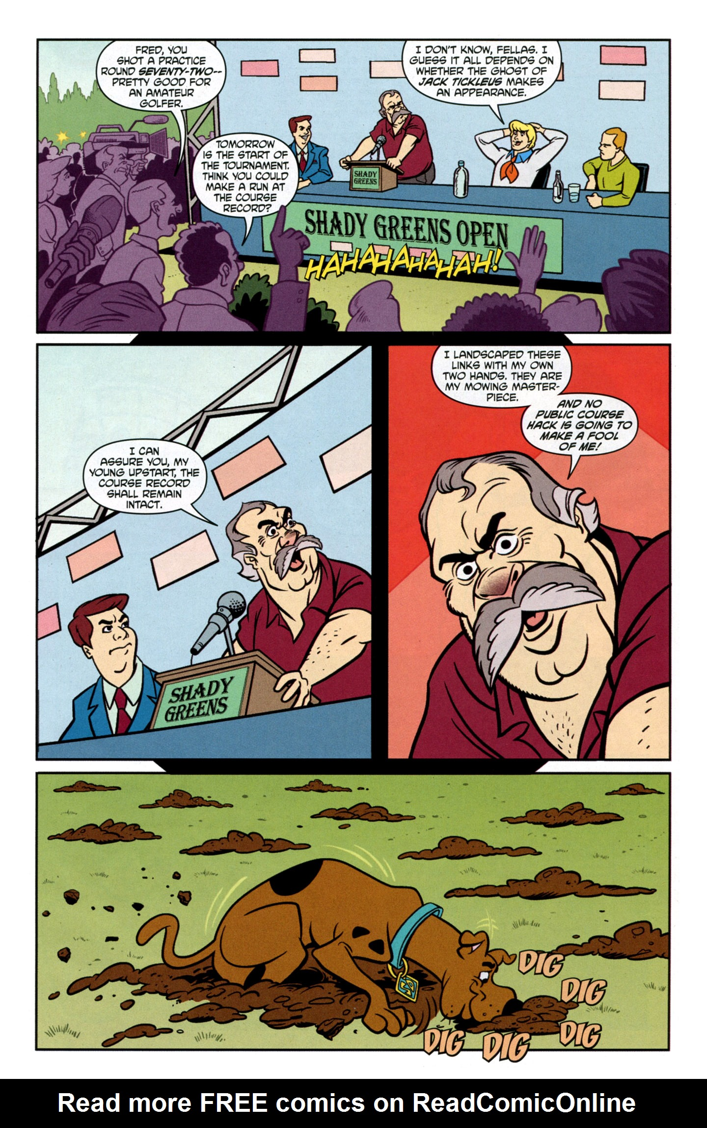 Read online Scooby-Doo: Where Are You? comic -  Issue #23 - 9