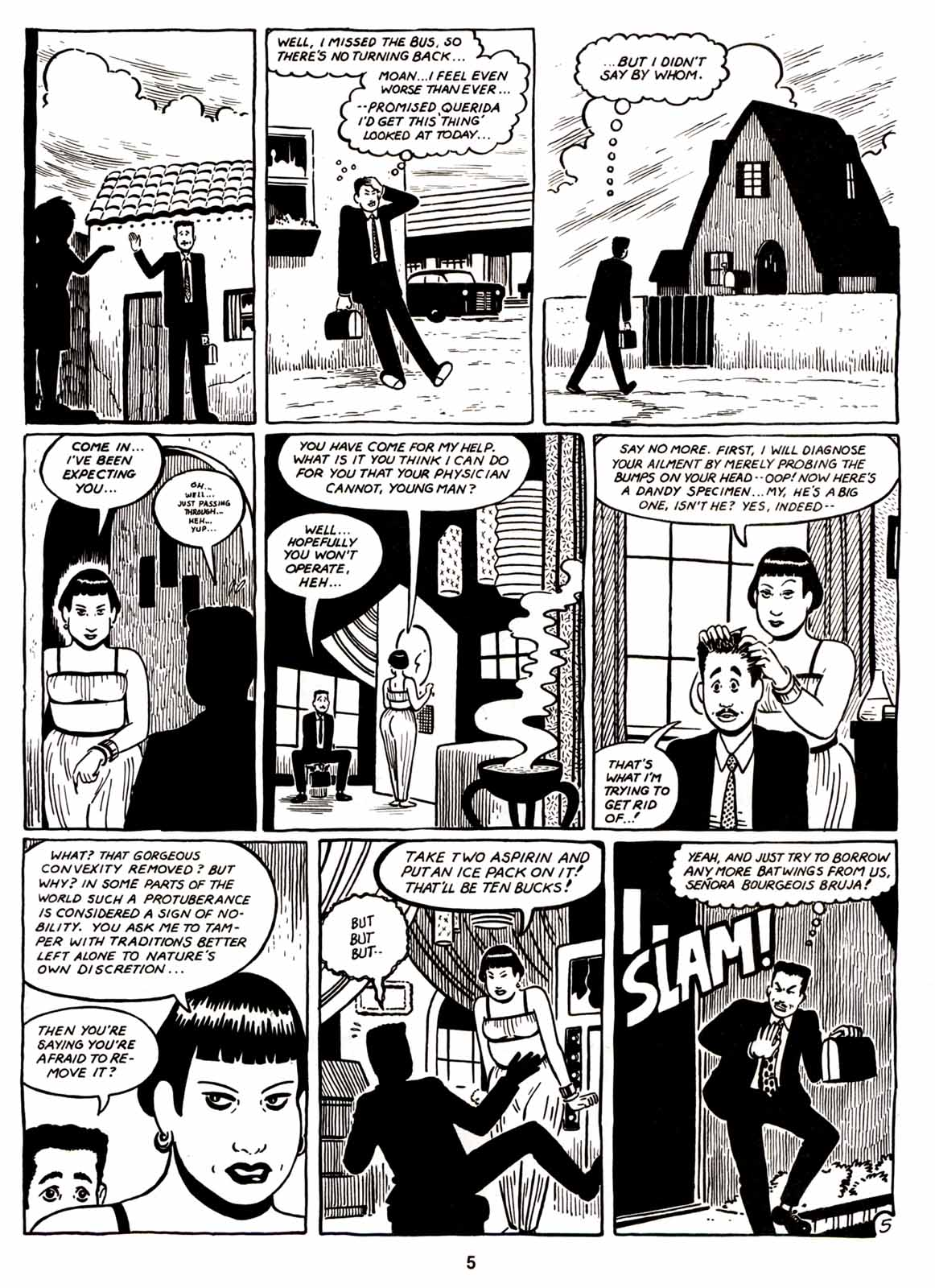 Love and Rockets (1982) Issue #6 #5 - English 7