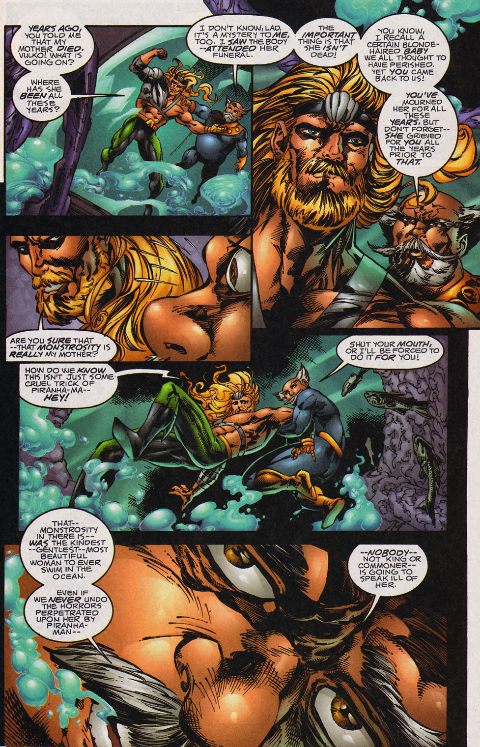 Aquaman (1994) Issue #59 #65 - English 4