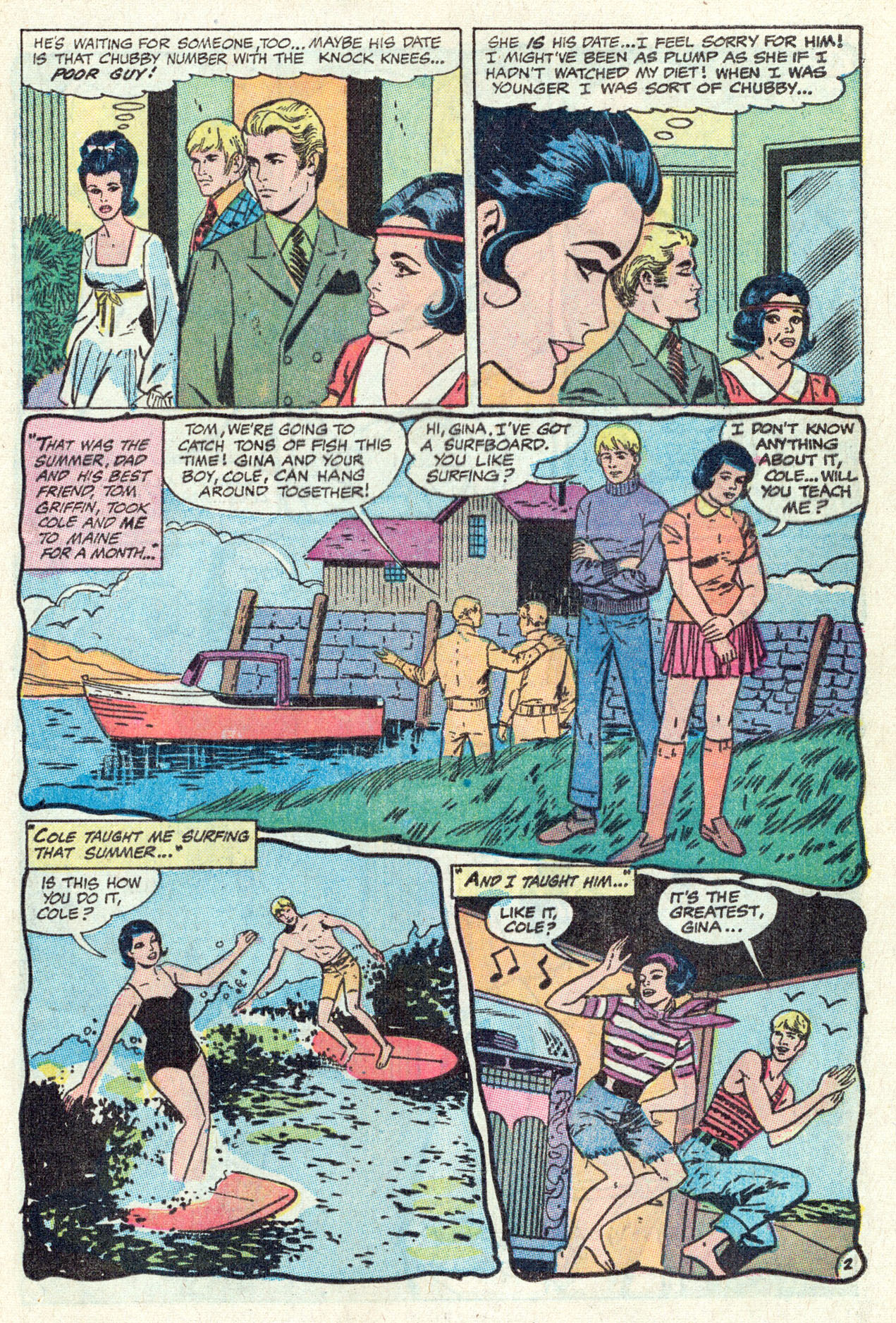 Read online Secret Hearts comic -  Issue #142 - 21