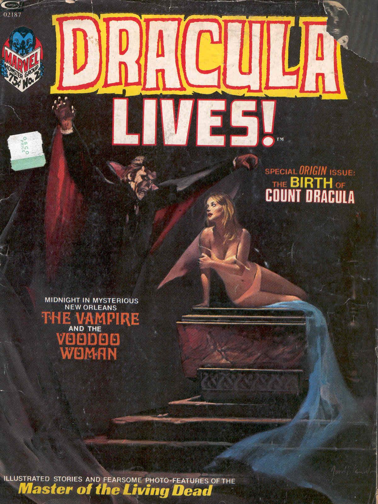 Dracula Lives 2 Page 1