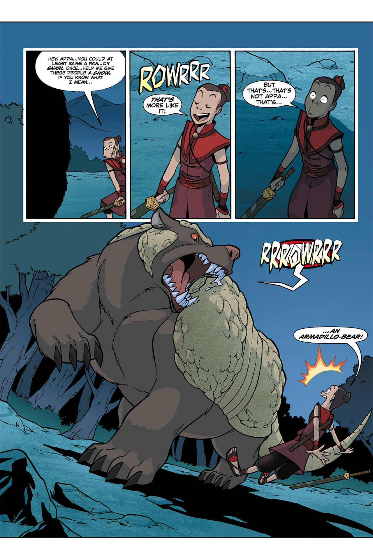 Nickelodeon Avatar: The Last Airbender - The Lost Adventures chap full pic 160