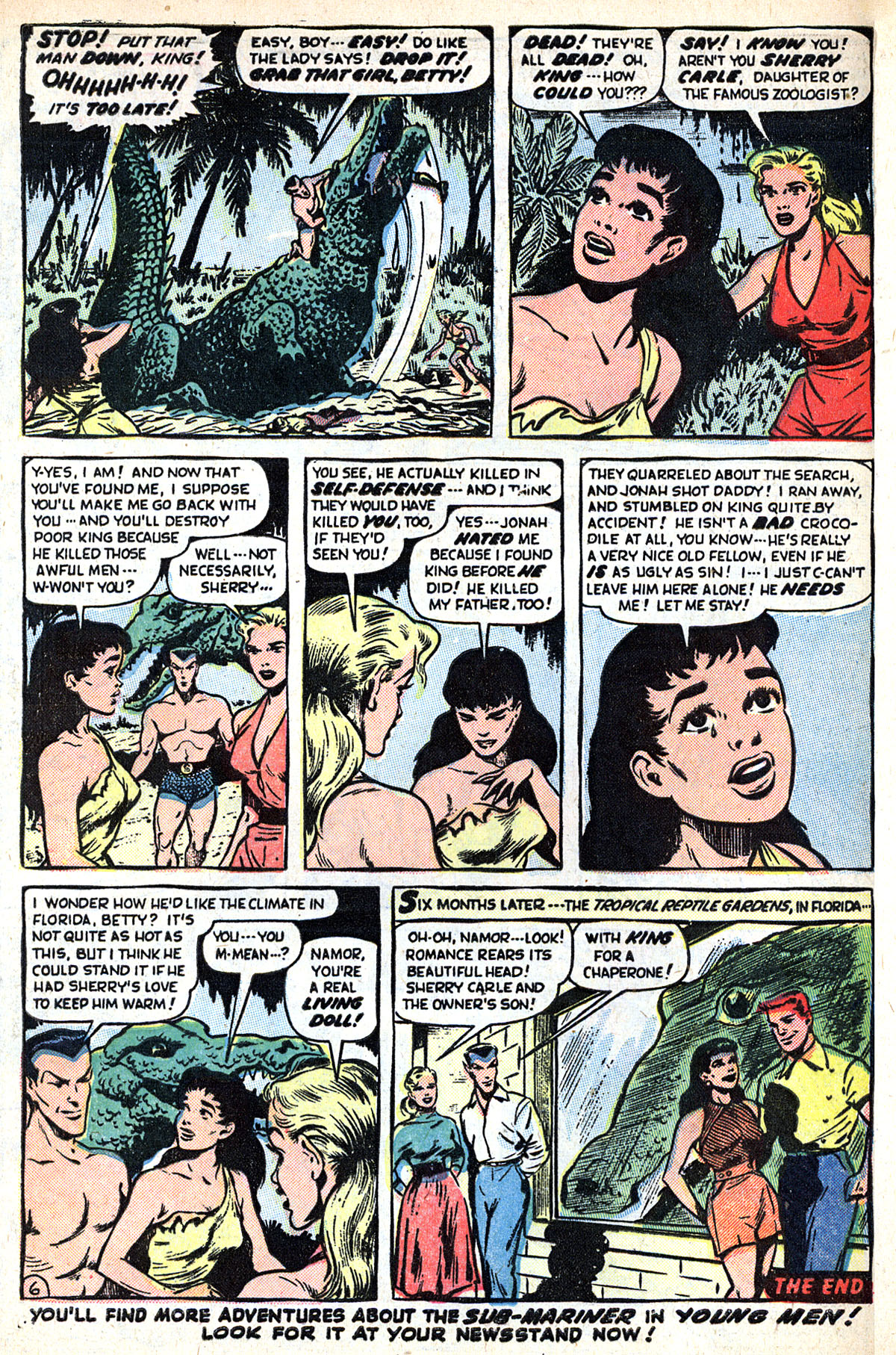 Sub-Mariner Comics #33 #33 - English 32