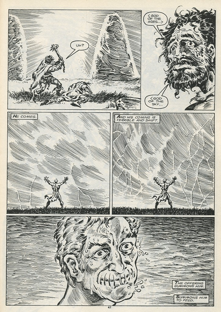 The Savage Sword Of Conan Issue #178 #179 - English 49