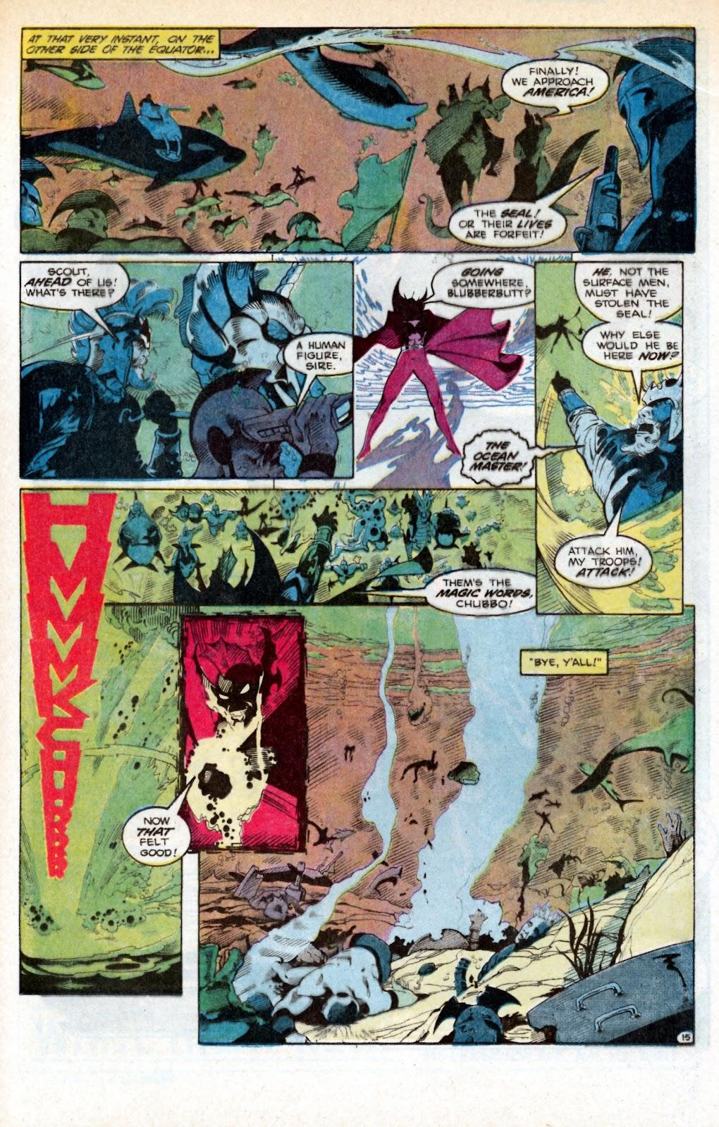 Aquaman (1986) Issue #3 #3 - English 24