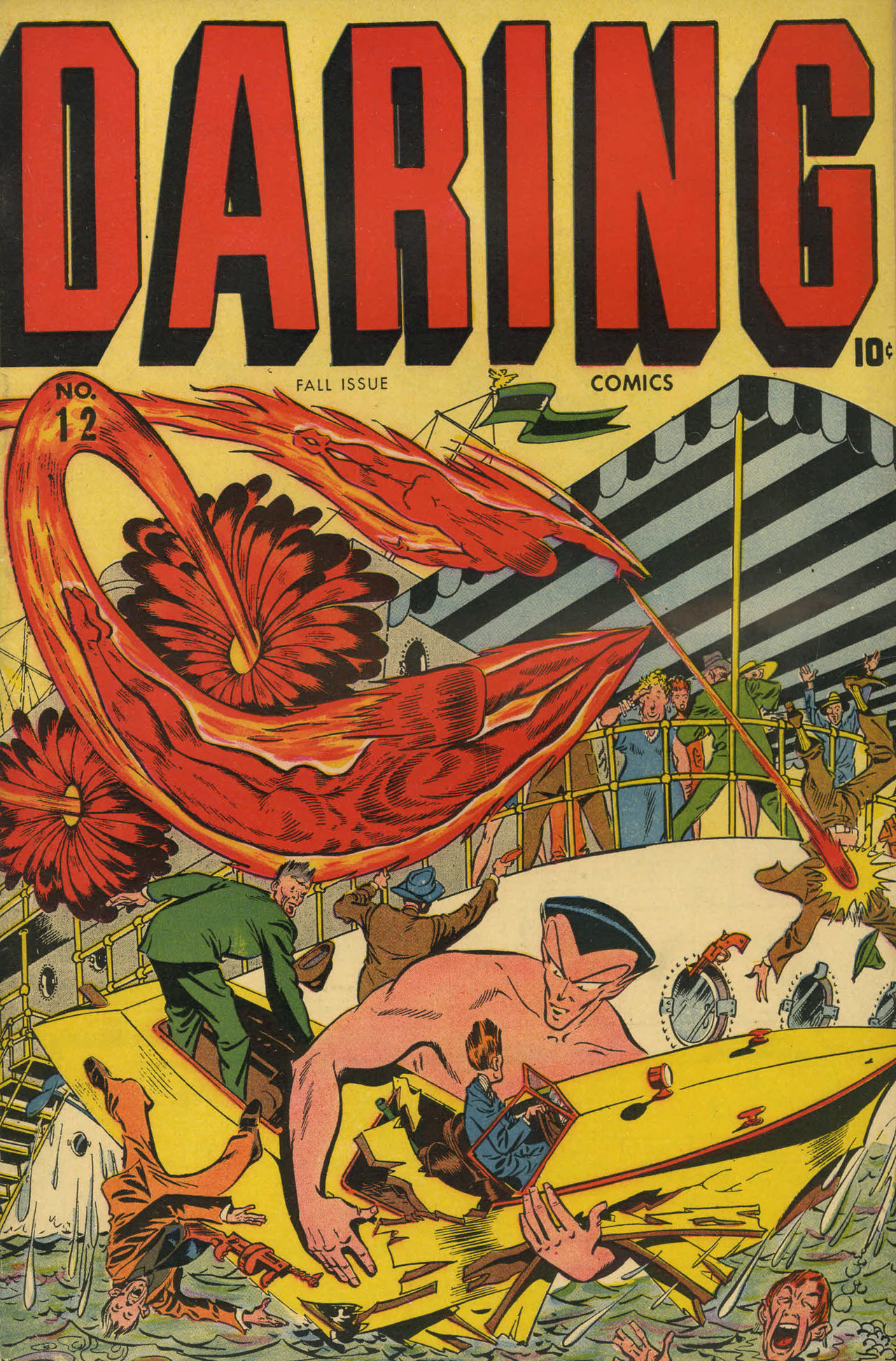 Daring Comics 12 Page 1