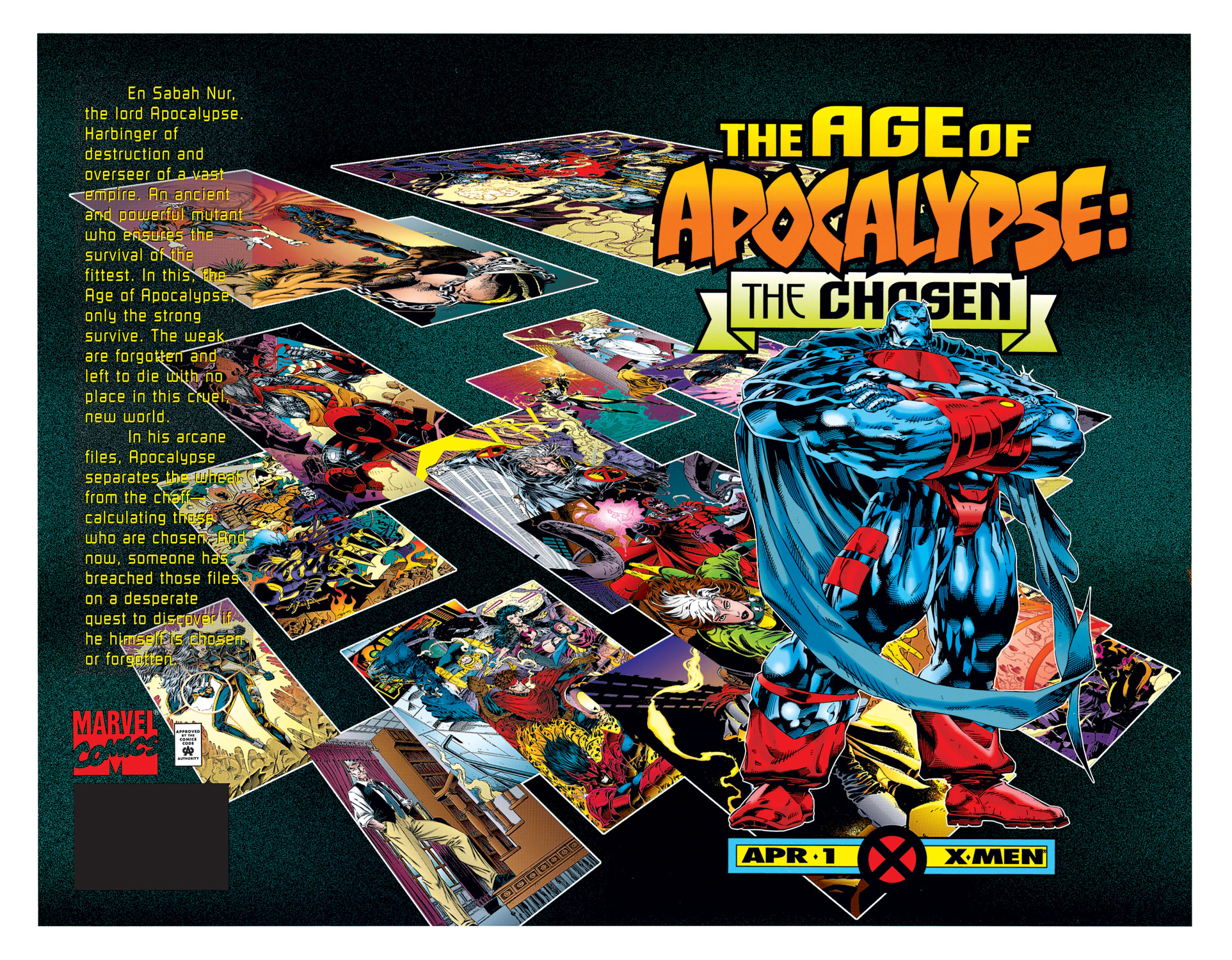 Age of Apocalypse: The Chosen Full Page 1