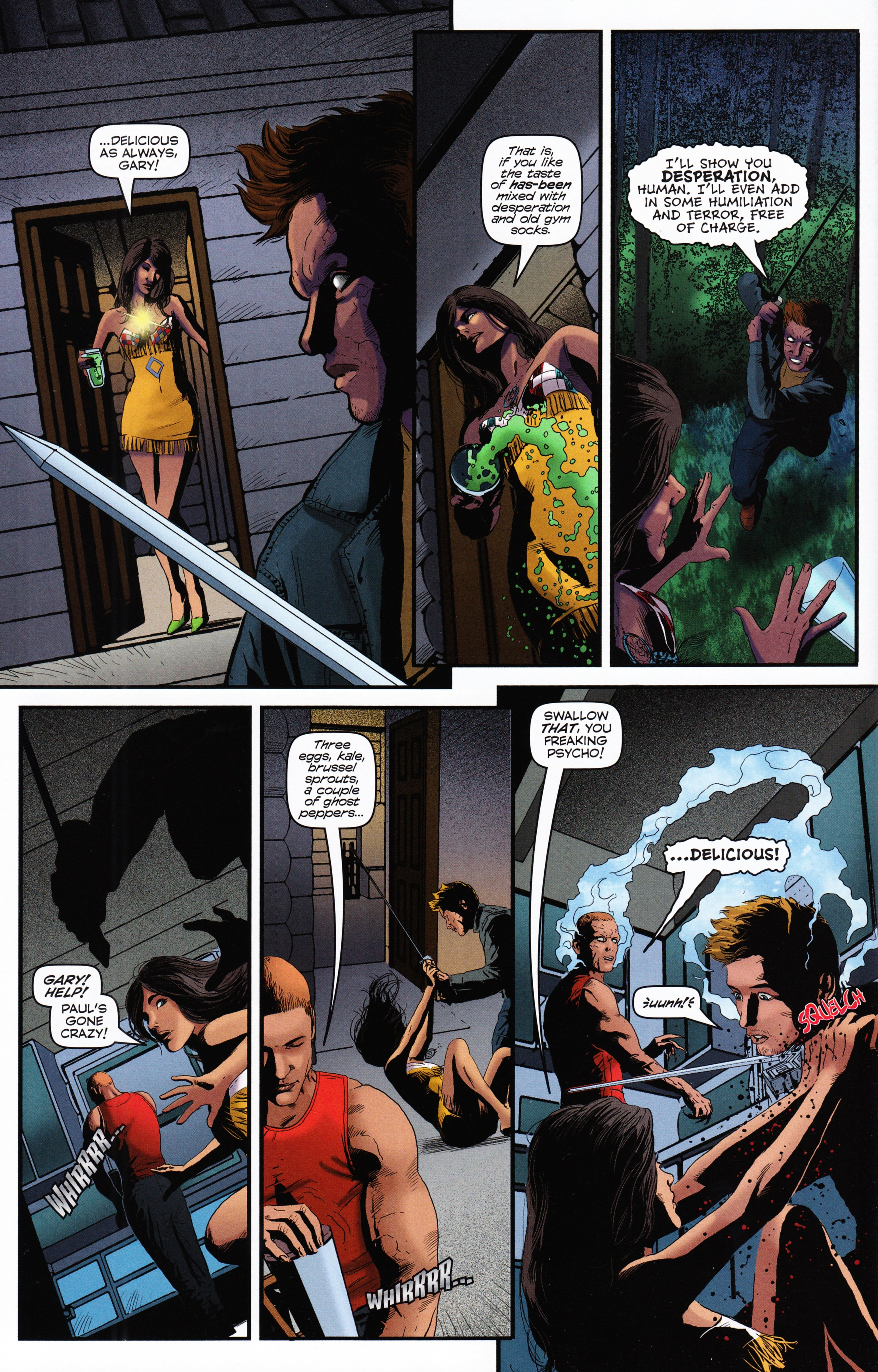 Read online Evil Dead 2: Tales of the Ex-Mortis comic -  Issue #2 - 32