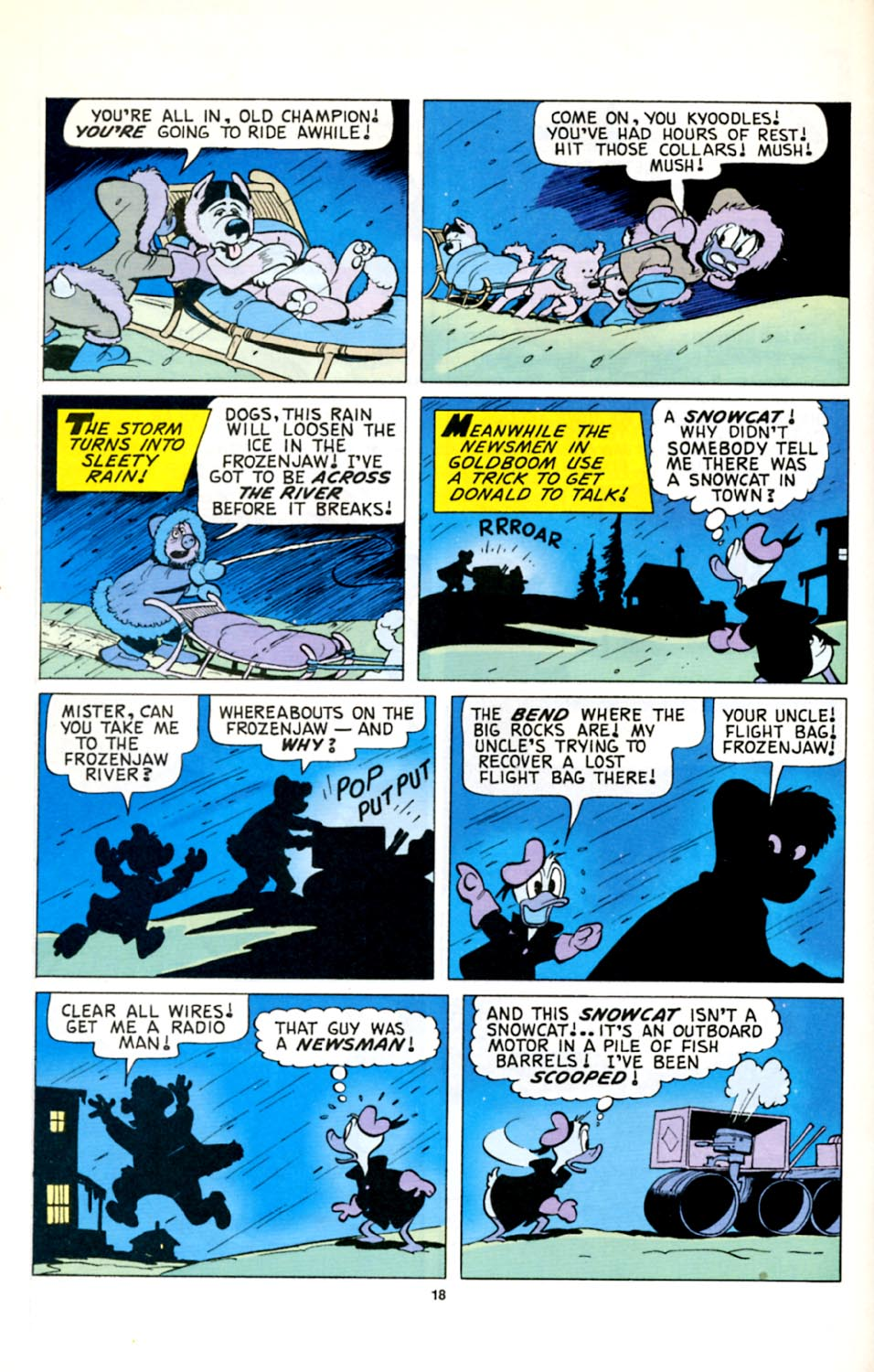 Uncle Scrooge (1953) Issue #278 #278 - English 19