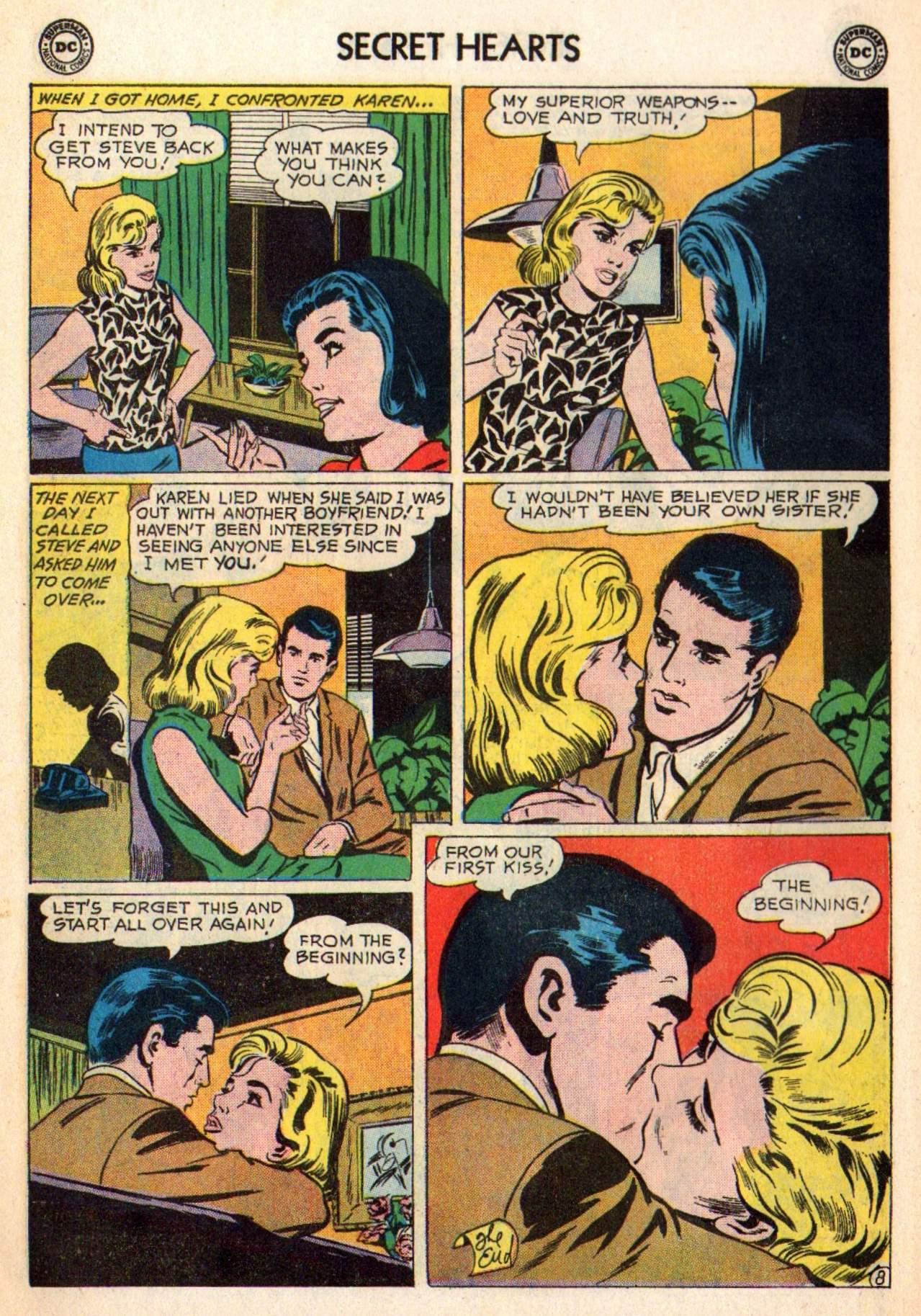 Read online Secret Hearts comic -  Issue #98 - 10