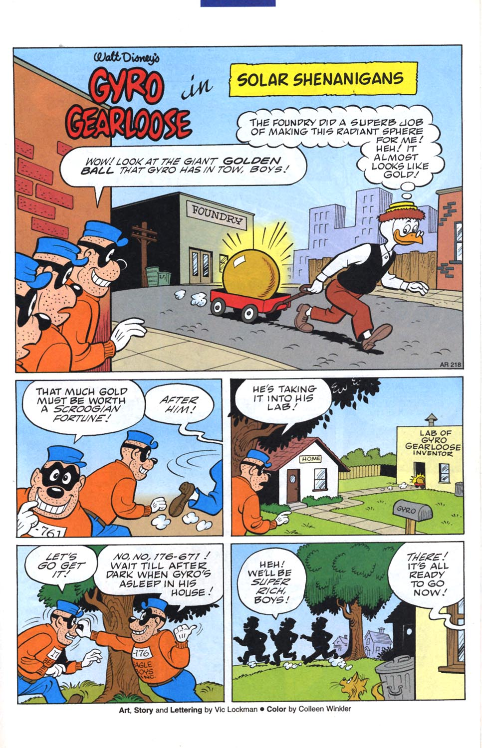 Uncle Scrooge (1953) Issue #299 #299 - English 18