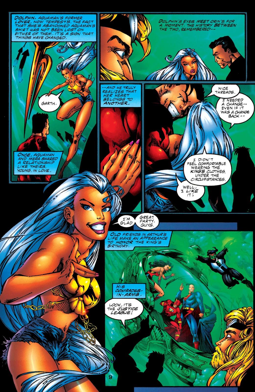 Aquaman (1994) Issue #50 #56 - English 9