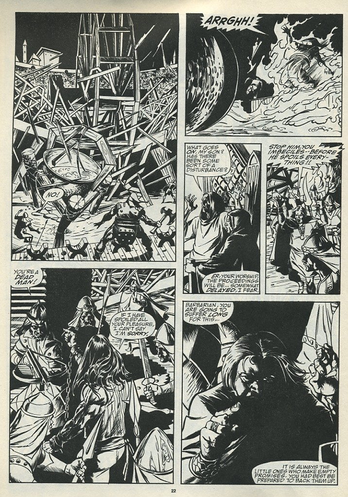 The Savage Sword Of Conan Issue #185 #186 - English 24