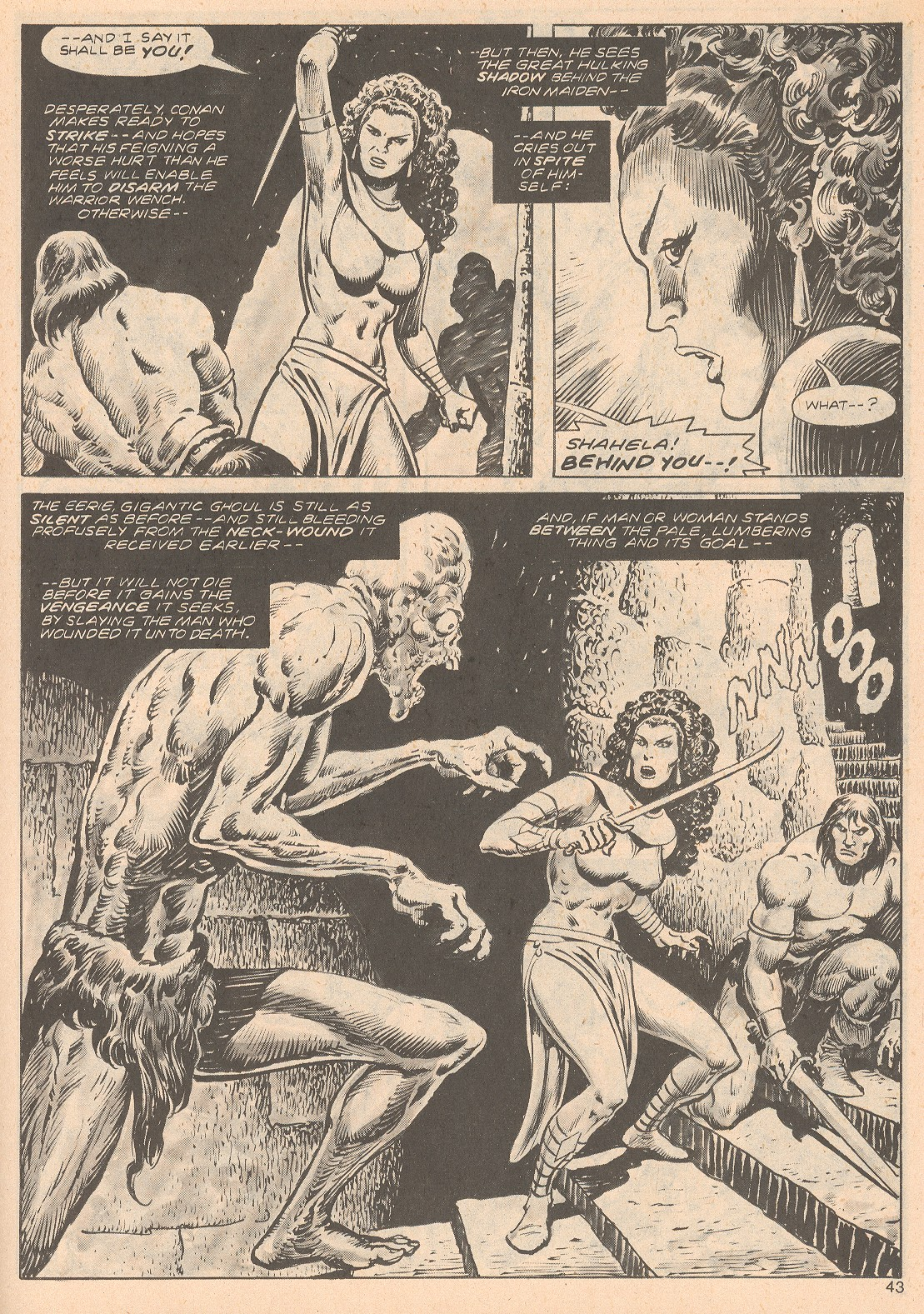 The Savage Sword Of Conan Issue #68 #69 - English 43