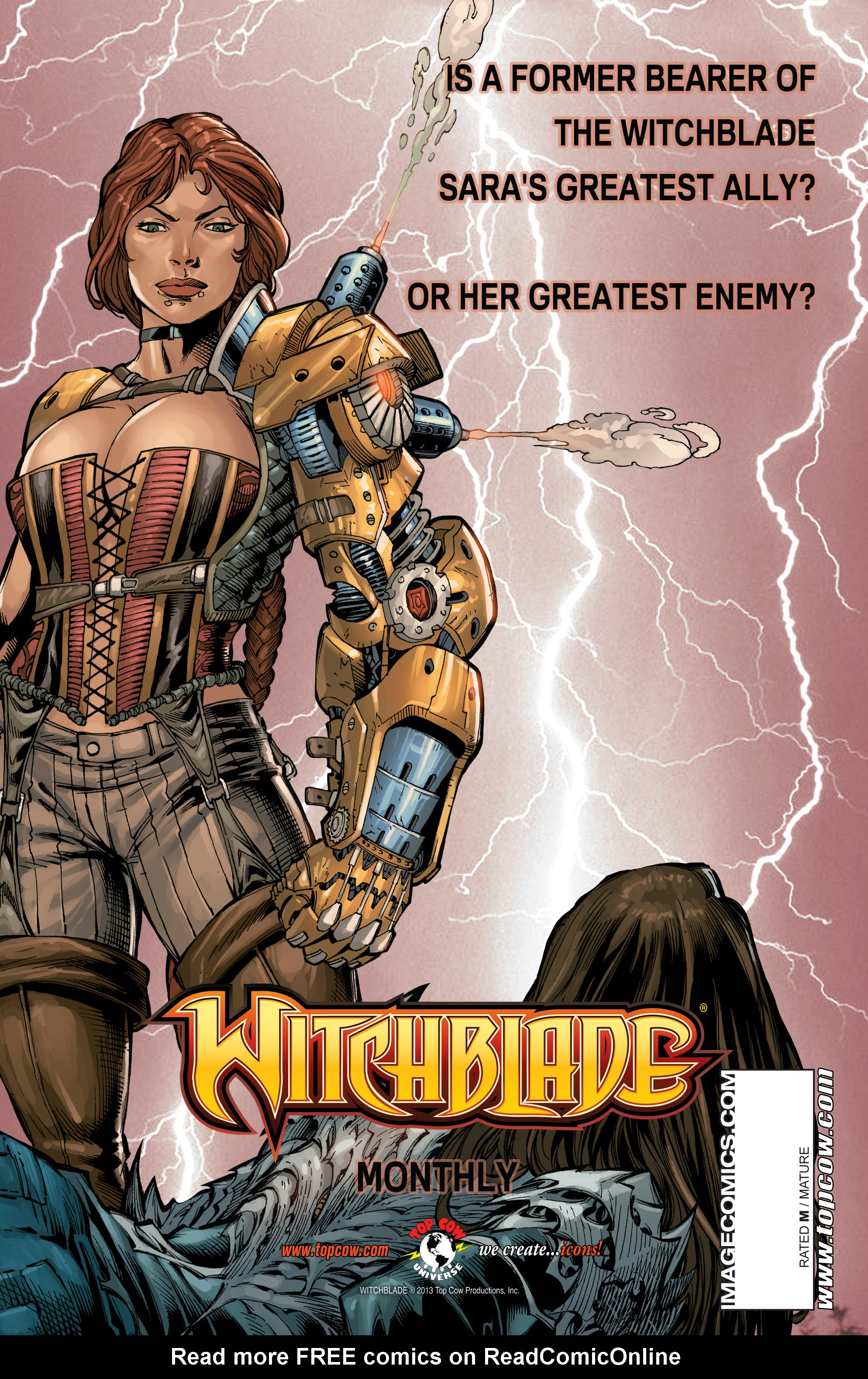 Read online The Darkness (2007) comic -  Issue #113 - 30