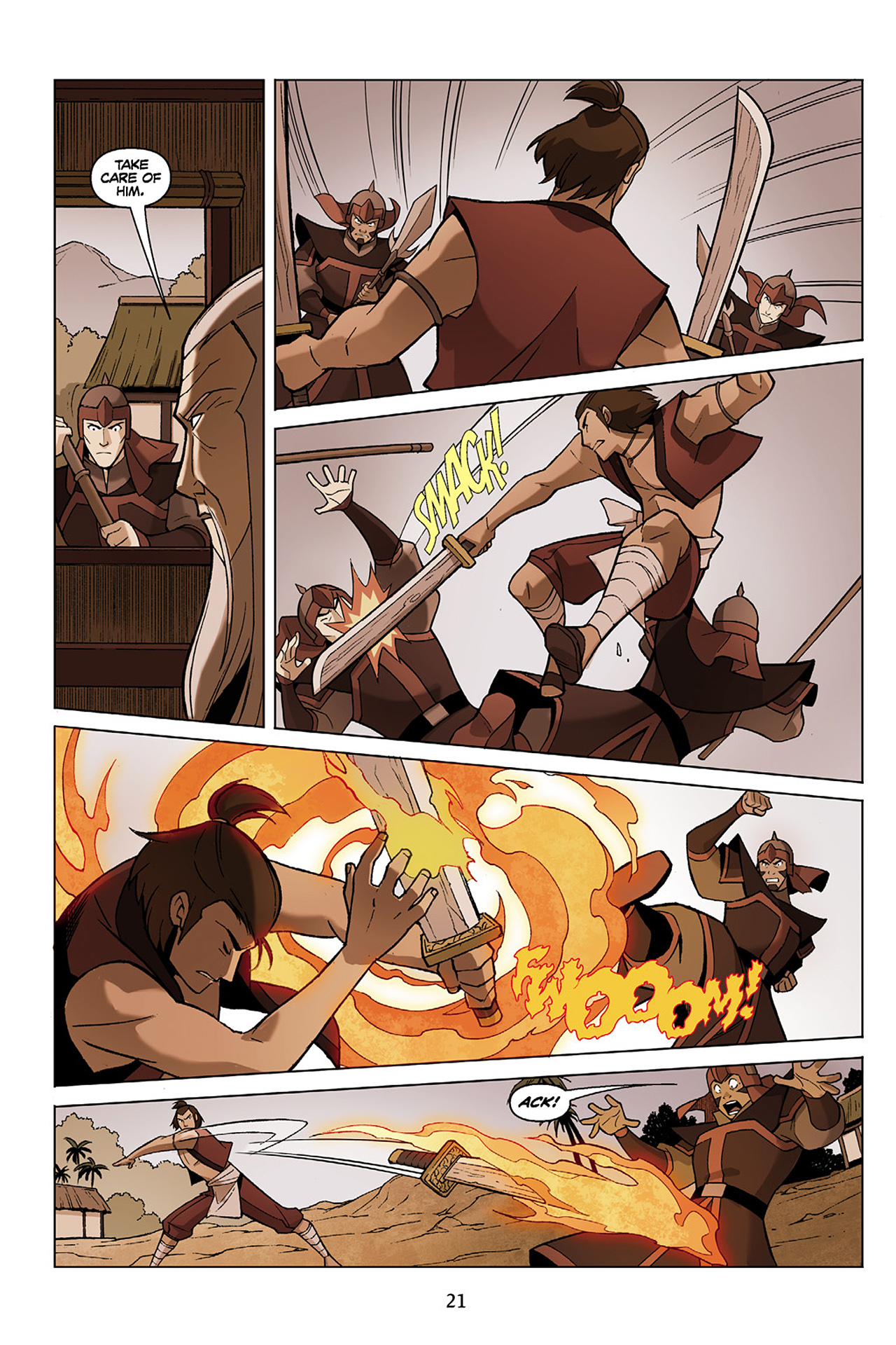 Read online Nickelodeon Avatar: The Last Airbender - The Search comic -  Issue # Part 1 - 22