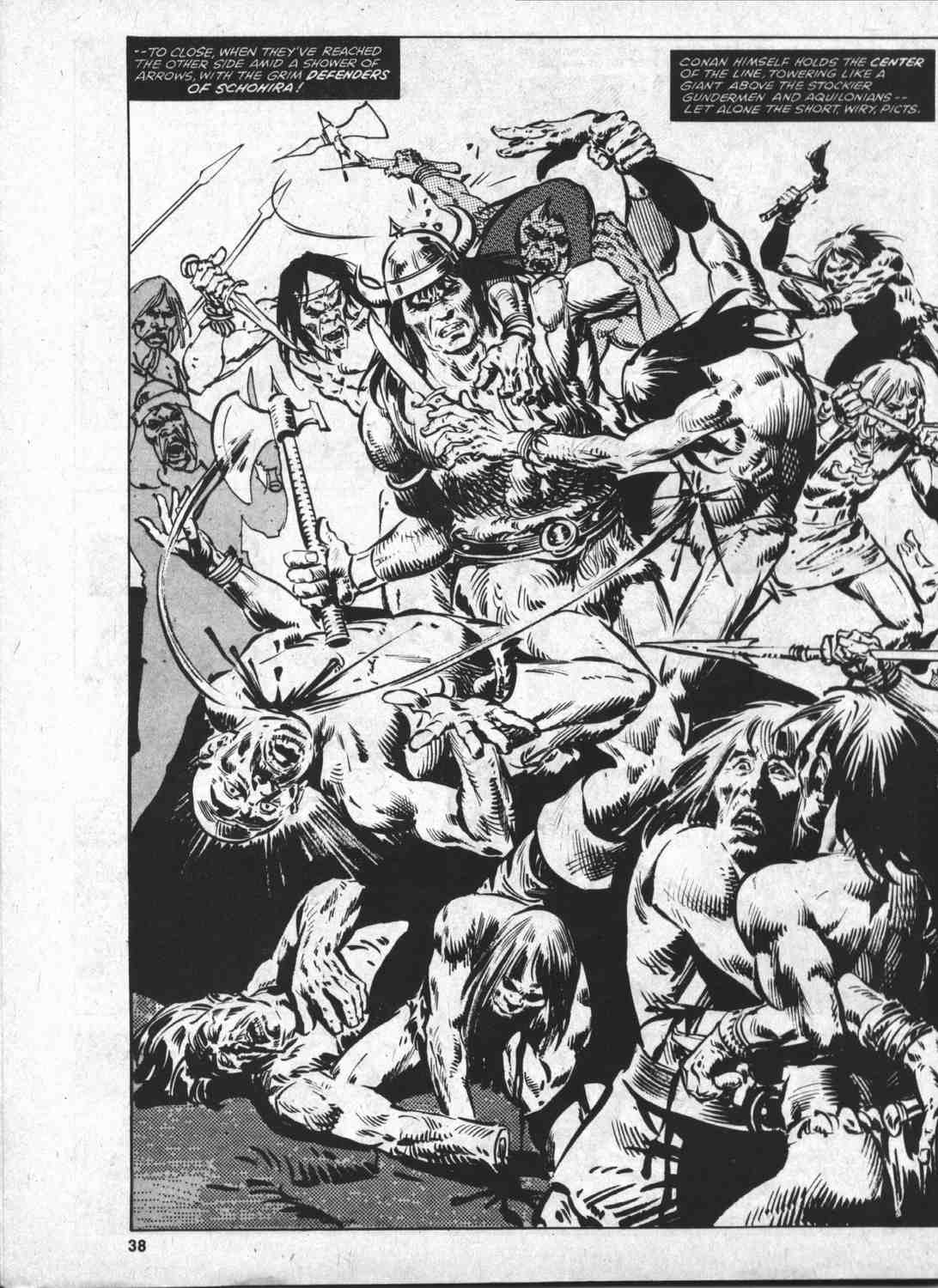 The Savage Sword Of Conan Issue #46 #47 - English 37
