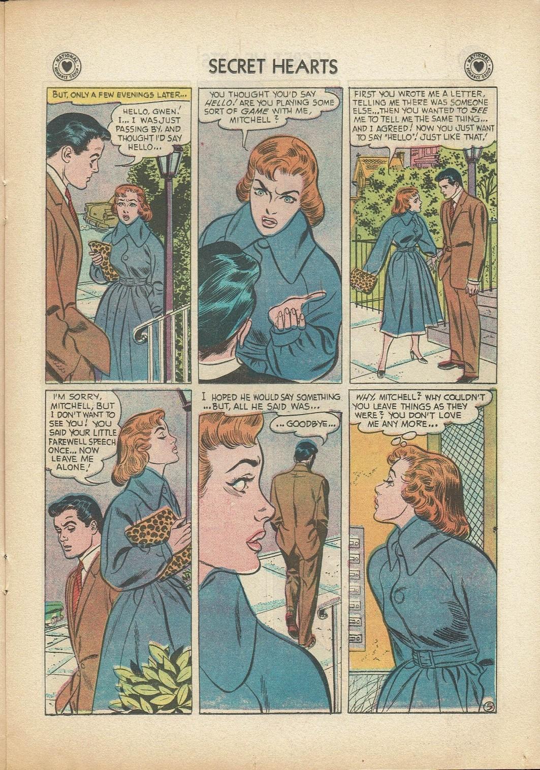 Read online Secret Hearts comic -  Issue #47 - 15