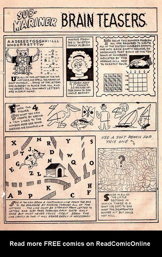 Sub-Mariner Comics #26 #26 - English 21